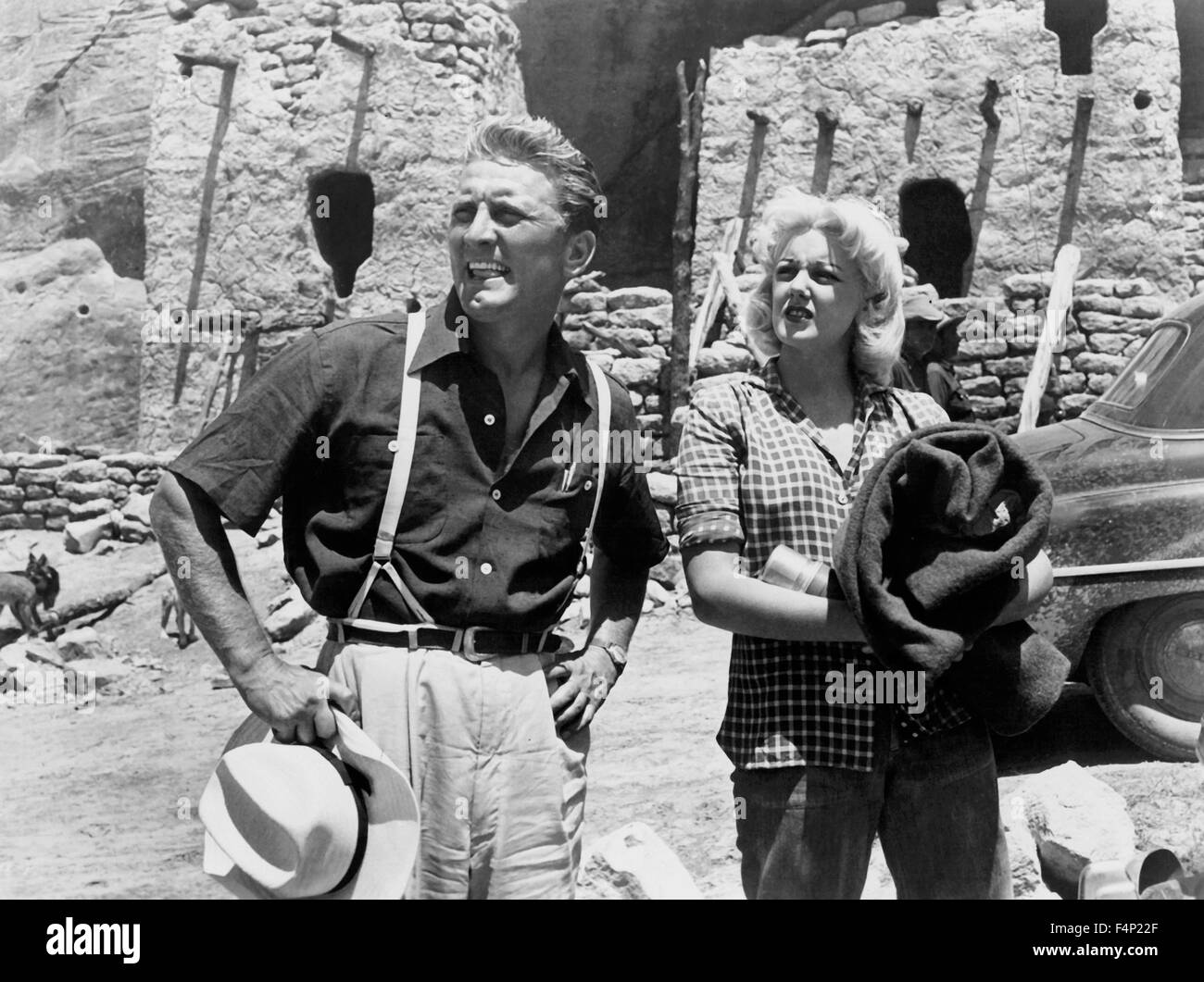 Jan Sterling, Kirk Douglas / Ace In The Hole 1951 directed by Billy Wilder - Stock Image
