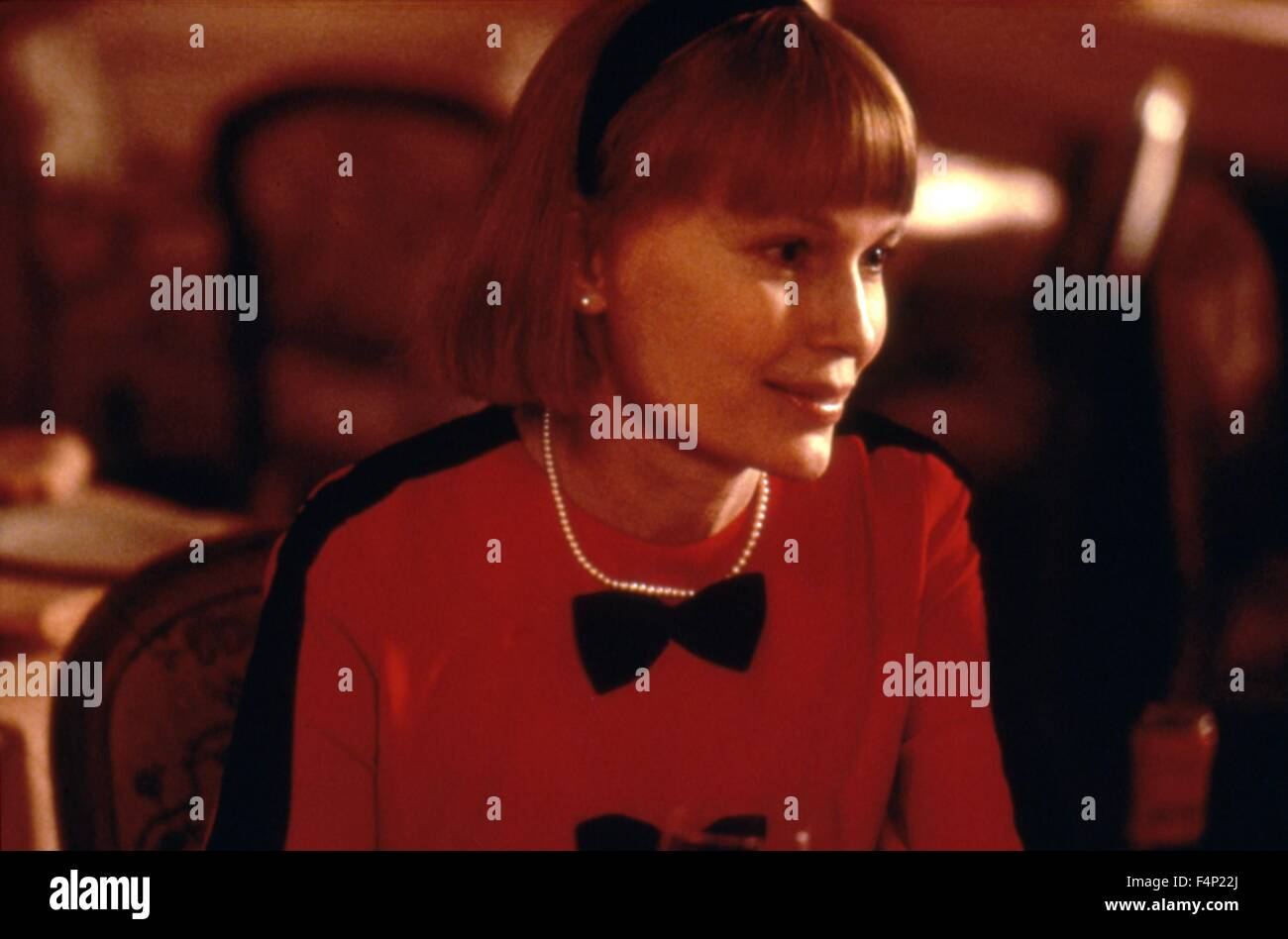 Mia Farrow / Alice 1990 directed by Woody Allen - Stock Image