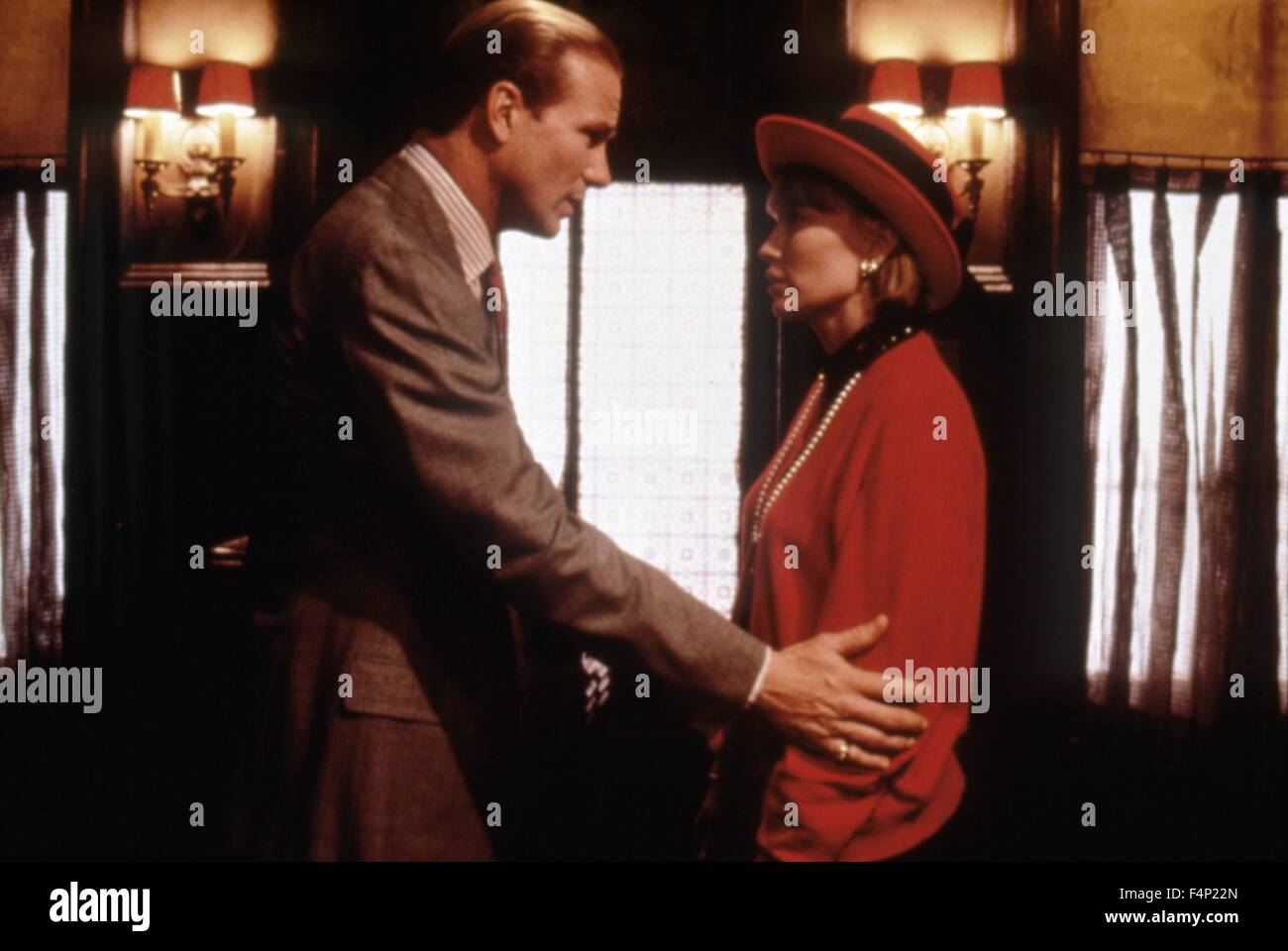 William Hurt, Mia Farrow / Alice 1990 directed by Woody Allen - Stock Image