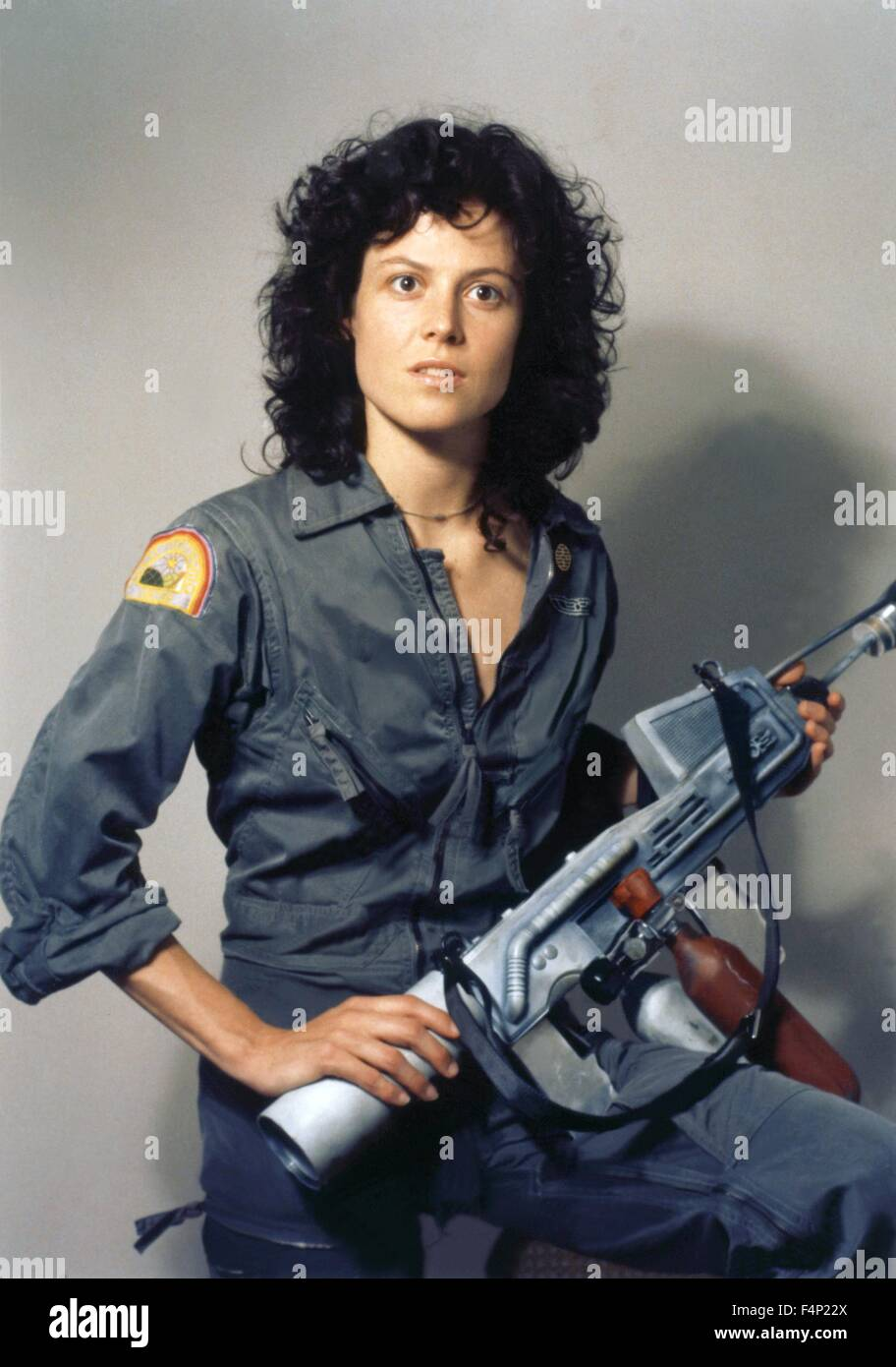 Sigourney Weaver / Alien 1979 directed by Ridley Scott - Stock Image