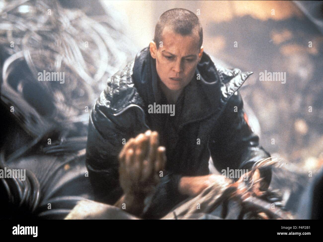 Sigourney Weaver / Alien 1992 directed by David Fincher - Stock Image