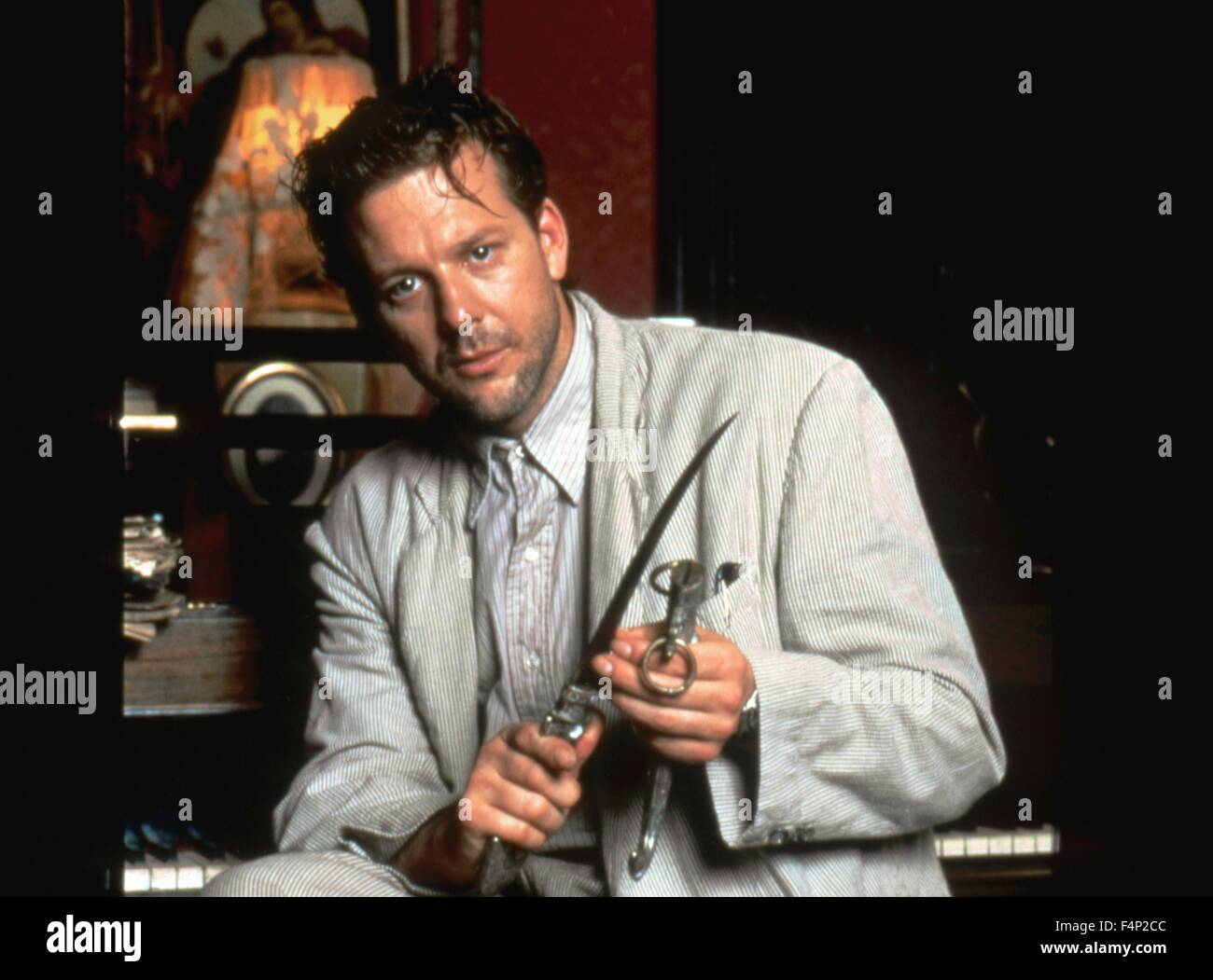 Mickey Rourke / Angel Heart 1987 directed by Alan Parker - Stock Image