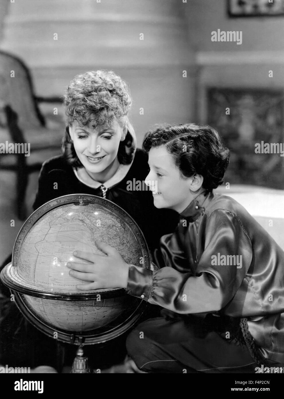 Greta Garbo, Freddie Bartholomew / Anna Karenina 1935 directed by Clarence Brown Stock Photo