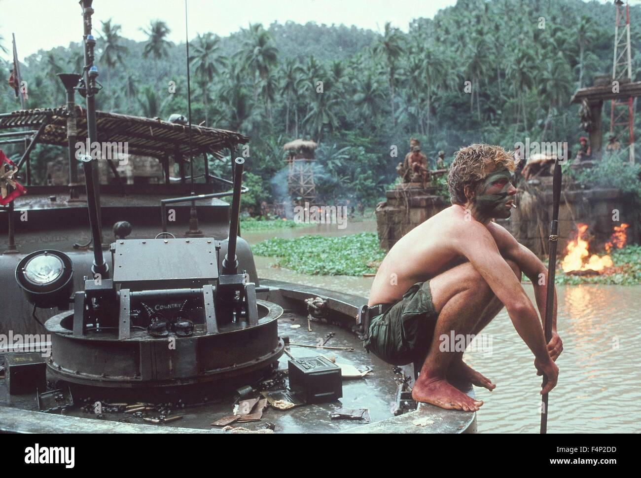 Apocalypse Now 1979 directed by Francis Ford Coppola - Stock Image