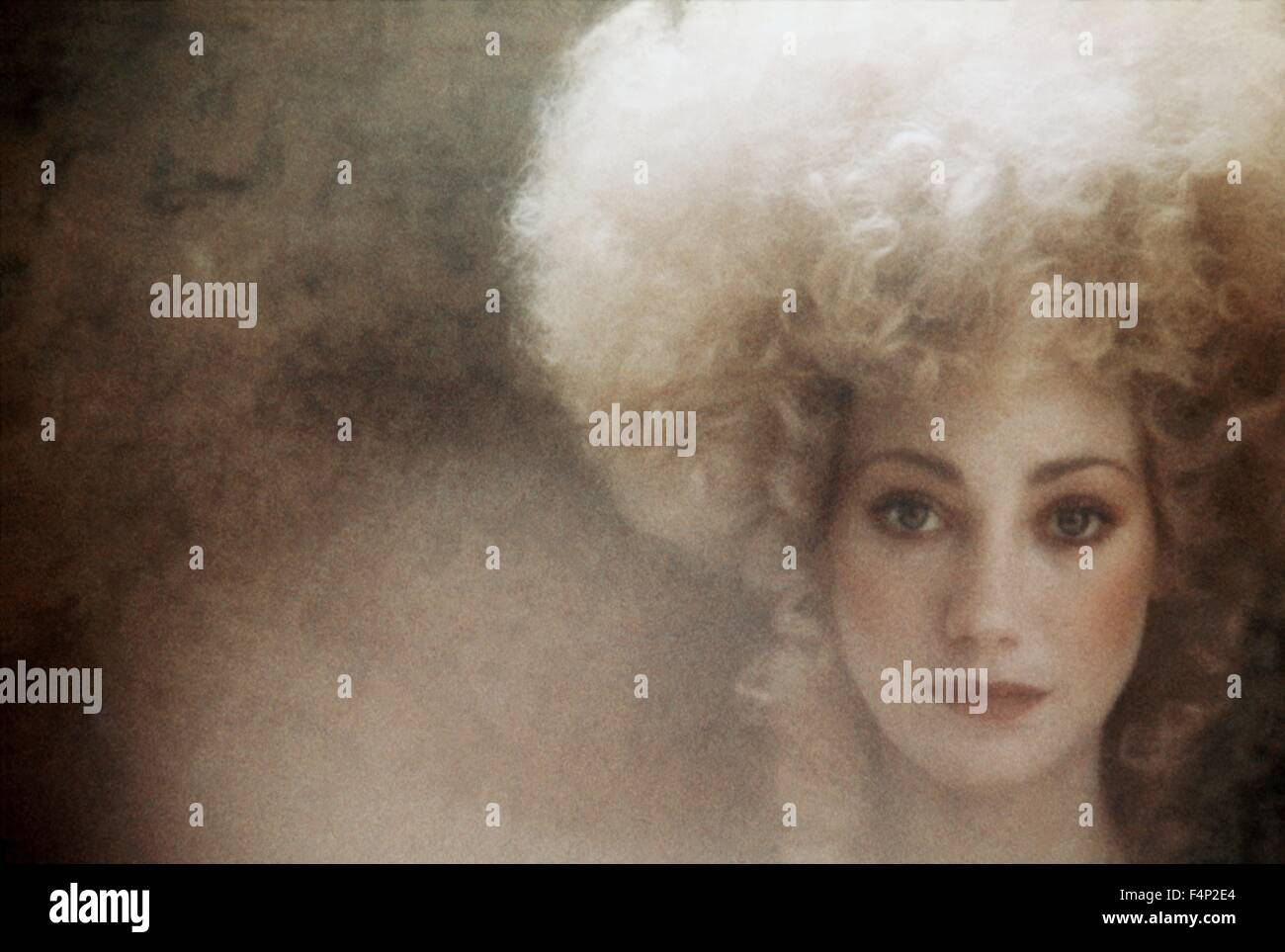 Marisa Berenson / Barry Lyndon 1975 directed by Stanley Kubrick - Stock Image