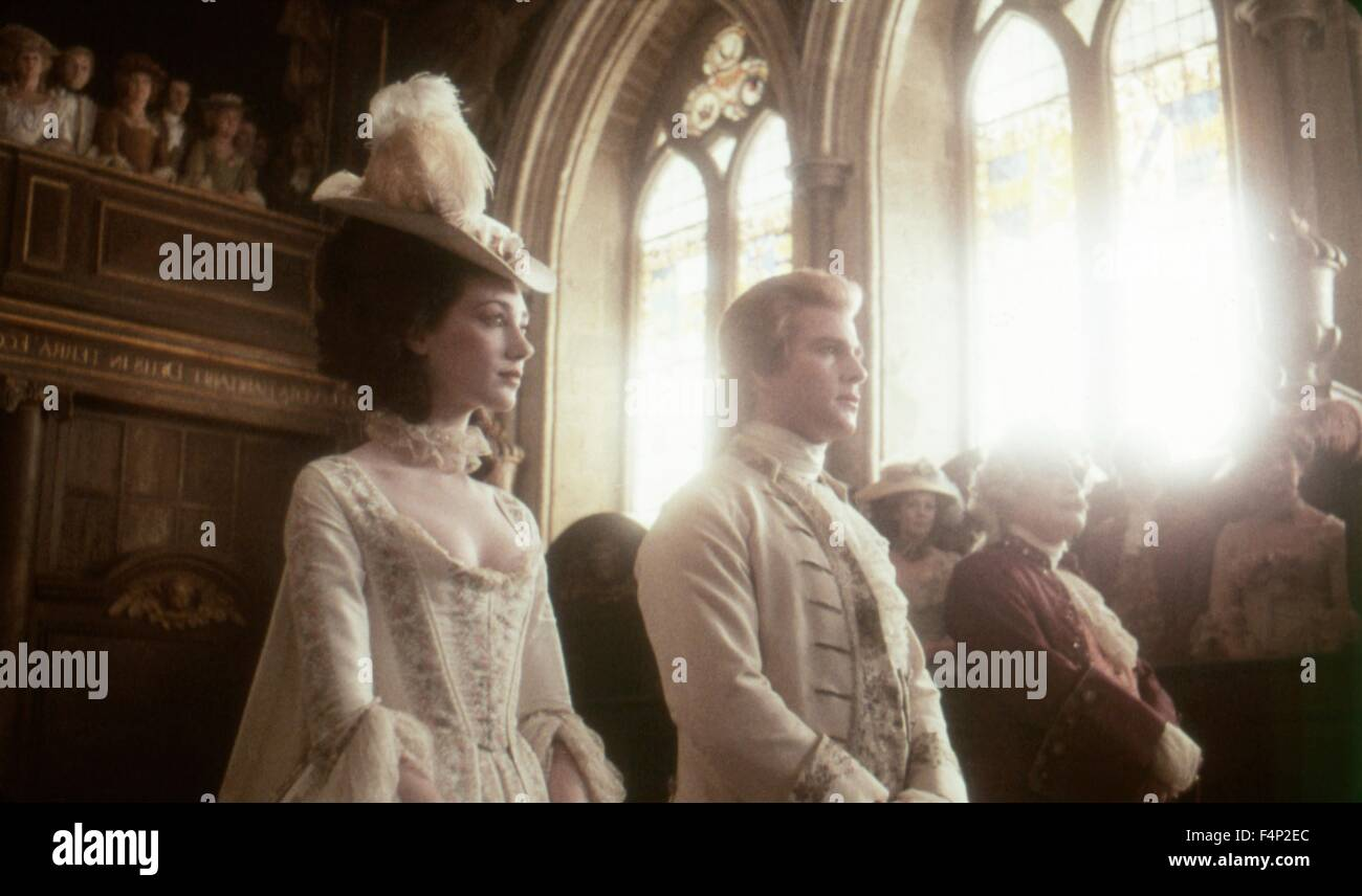 Marisa Berenson, Ryan O'Neal / Barry Lyndon 1975 directed by Stanley Kubrick - Stock Image