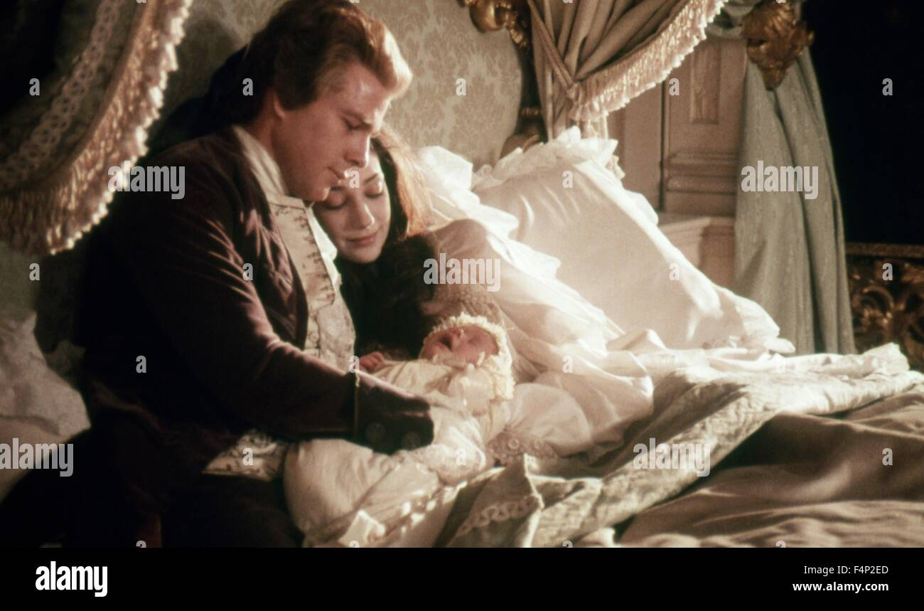 Marisa Berenson, Ryan O'Neal / Barry Lyndon 1975 directed by Stanley Kubrick - Stock Image