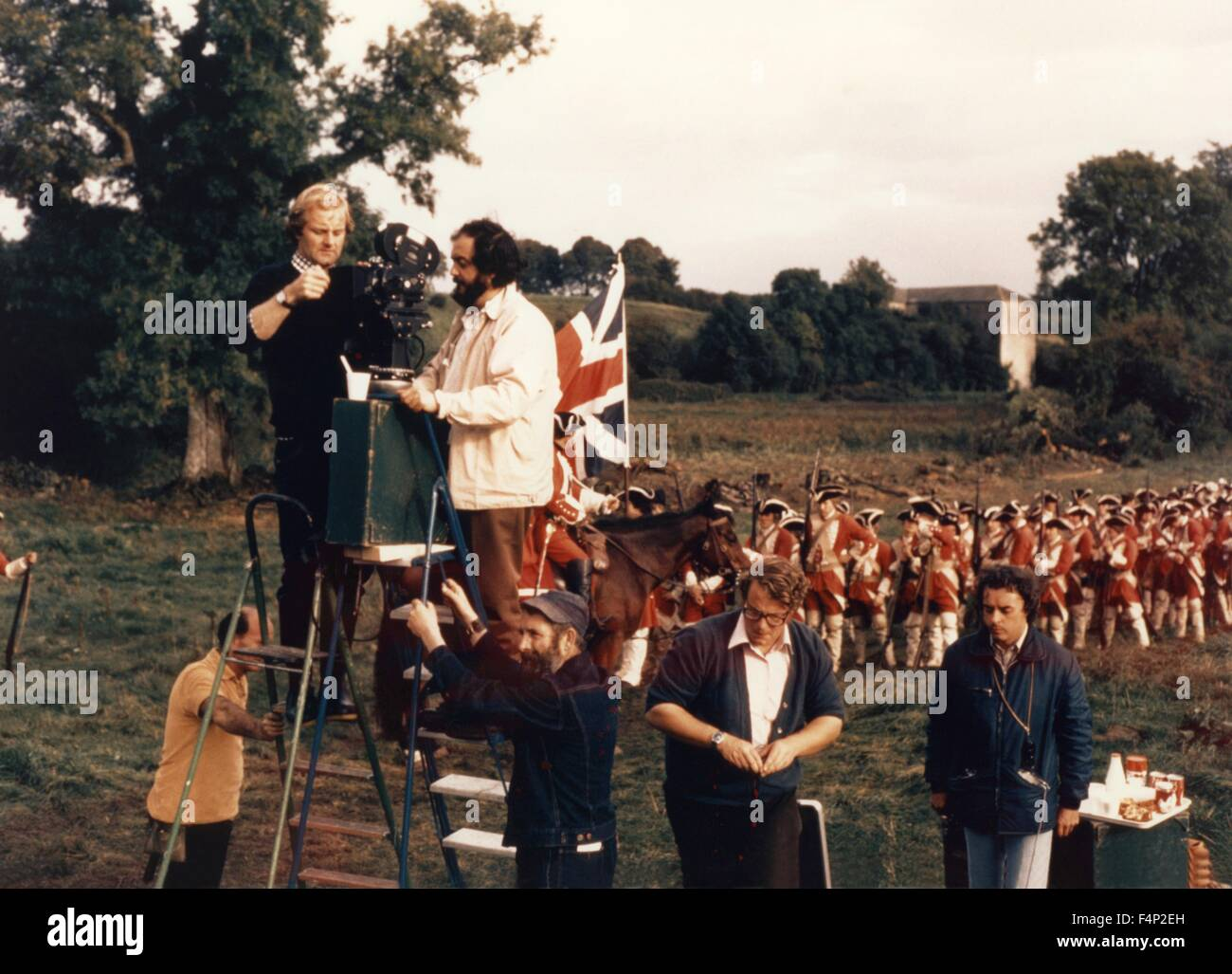 Stanley Kubrick / Barry Lyndon 1975 directed by Stanley Kubrick - Stock Image
