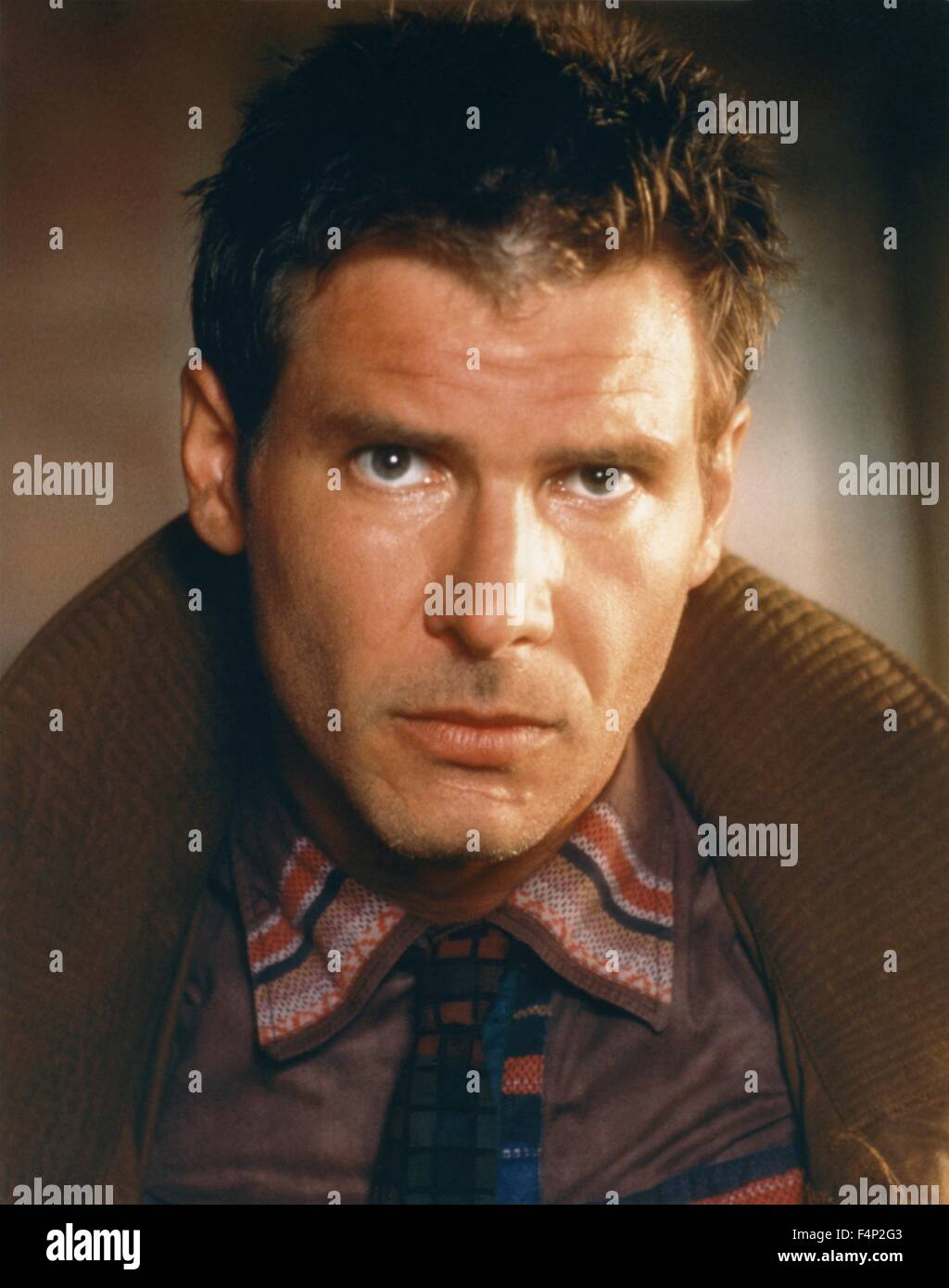 Harrison Ford / Blade Runner 1982 directed by Ridley Scott - Stock Image