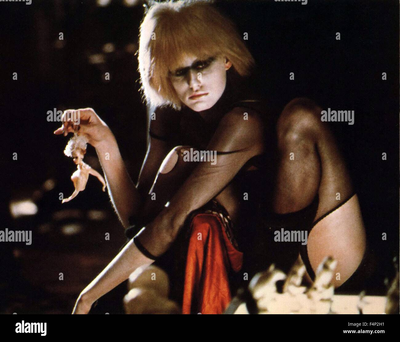 Daryl Hannah / Blade Runner 1982 directed by Ridley Scott - Stock Image