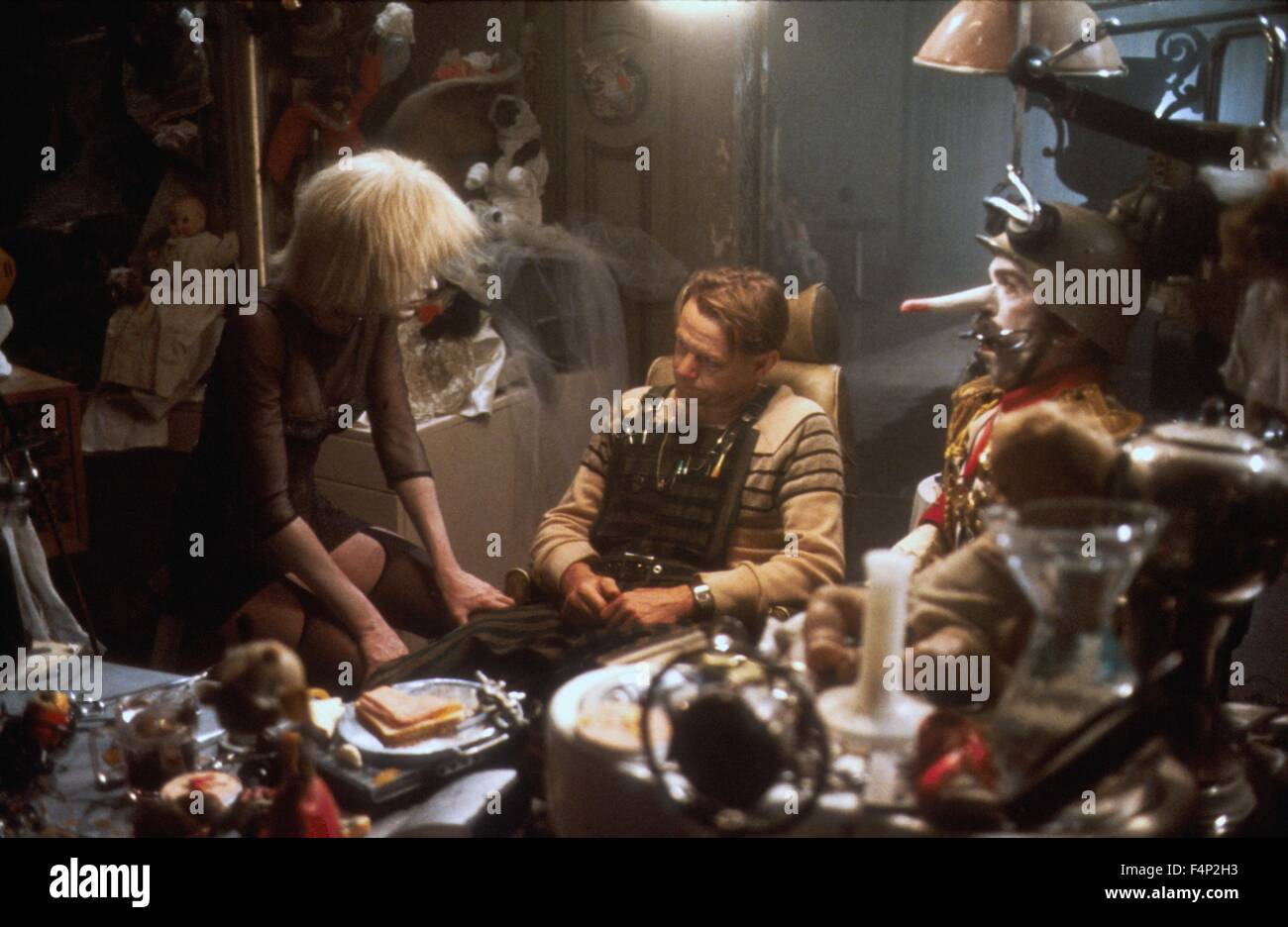 William Sanderson, Daryl Hannah / Blade Runner 1982 directed by Ridley Scott - Stock Image