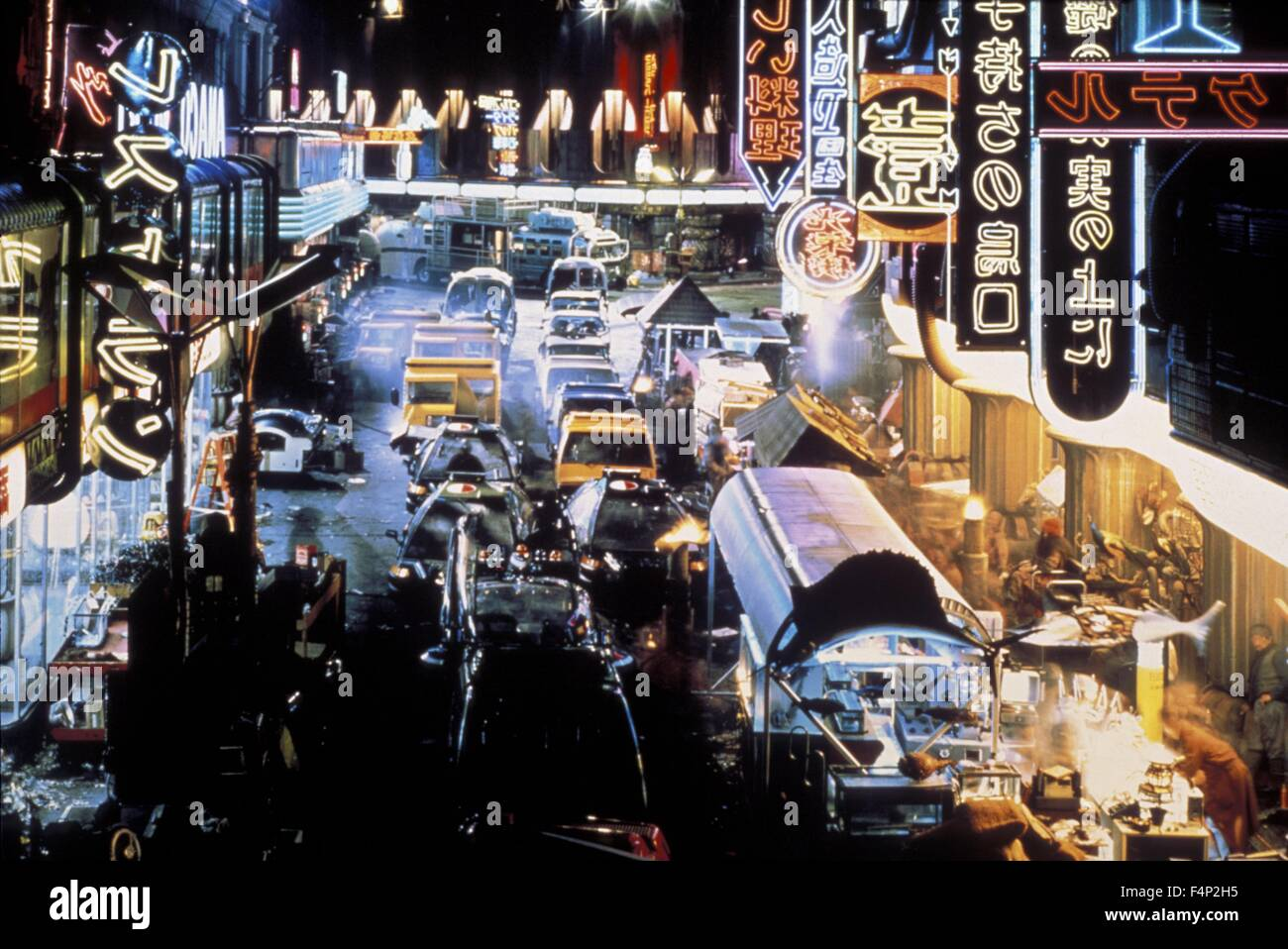 Blade Runner 1982 directed by Ridley Scott - Stock Image