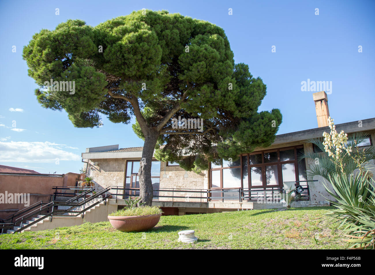 The Archeological Museum Cagliari Sardinia - Stock Image
