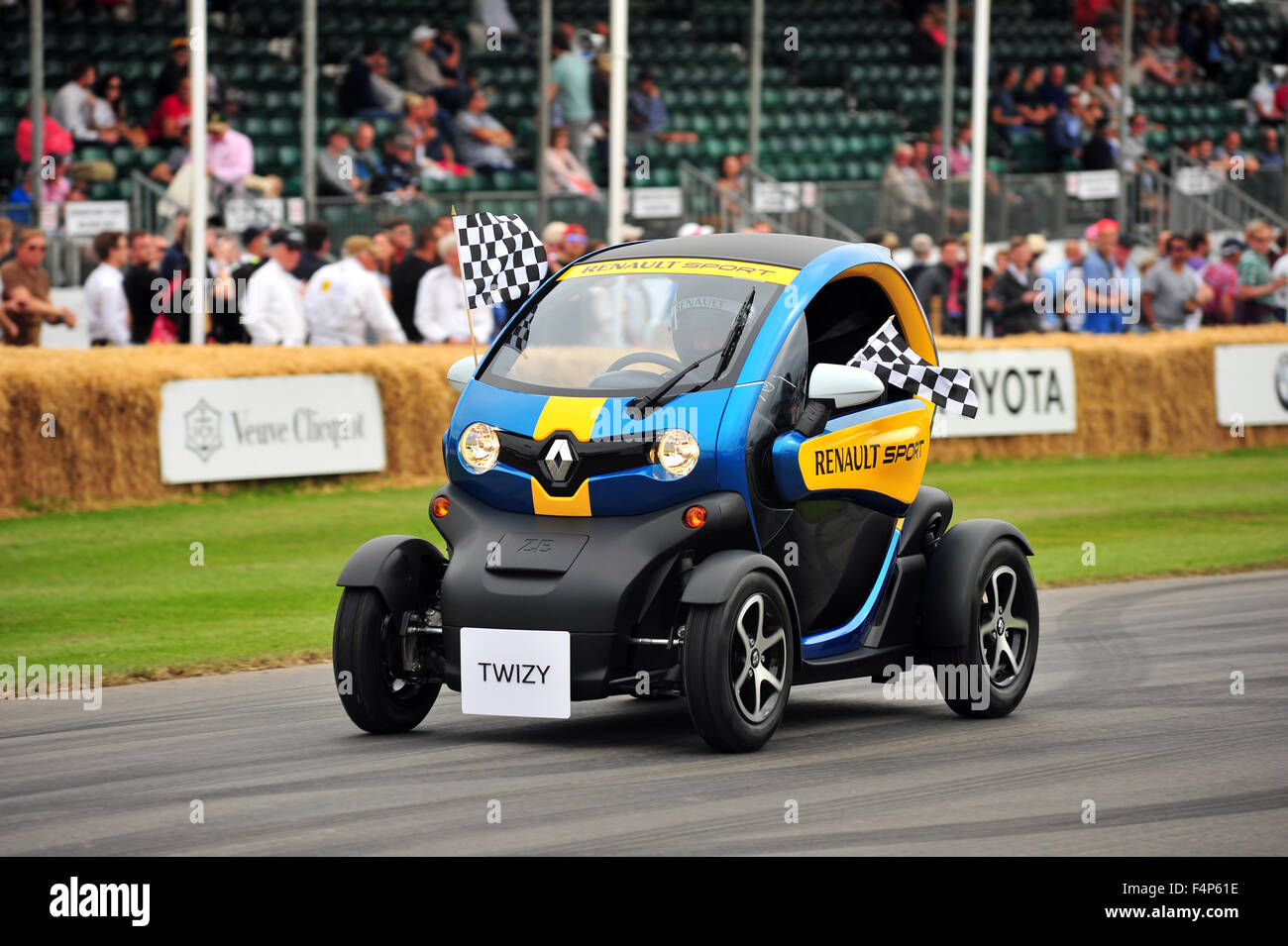 A Renault Twizy Sport at the Goodwood Festival of Speed in the UK. Stock Photo