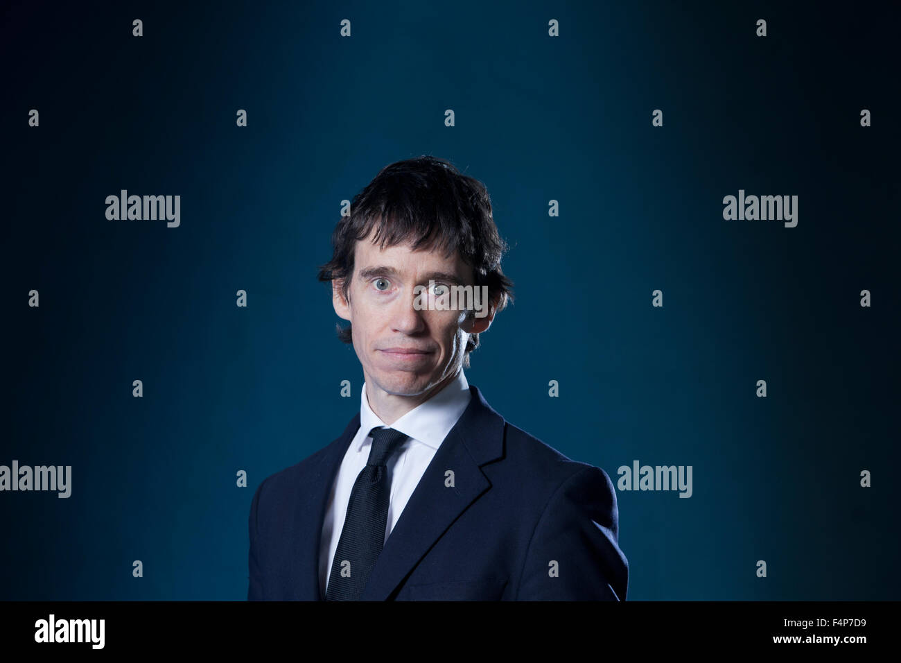 Rory Stewart, British academic, author and Conservative politician, at the Edinburgh International Book Festival - Stock Image