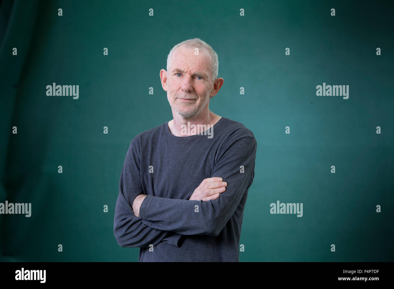 Ian Stephen, Scottish poet and author, at the Edinburgh International Book Festival 2015. Edinburgh. 30th August - Stock Image