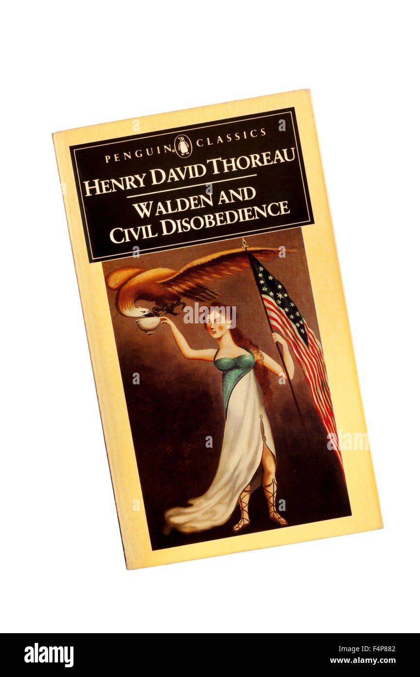 walden and civil disobedience thoreau henry david