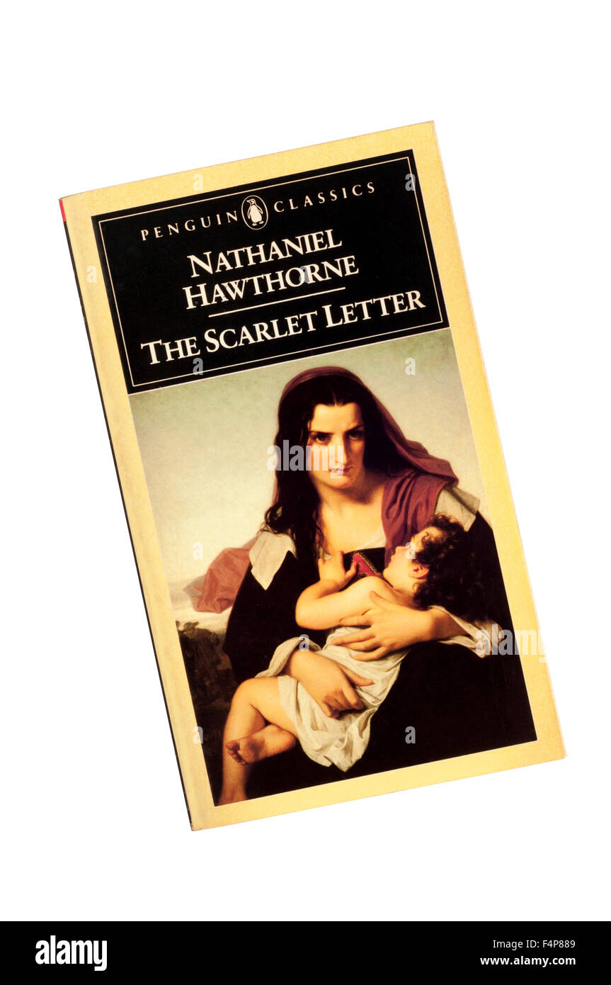 1983 Penguin Classics edition of The Scarlet Letter by Nathaniel Hawthorne. - Stock Image