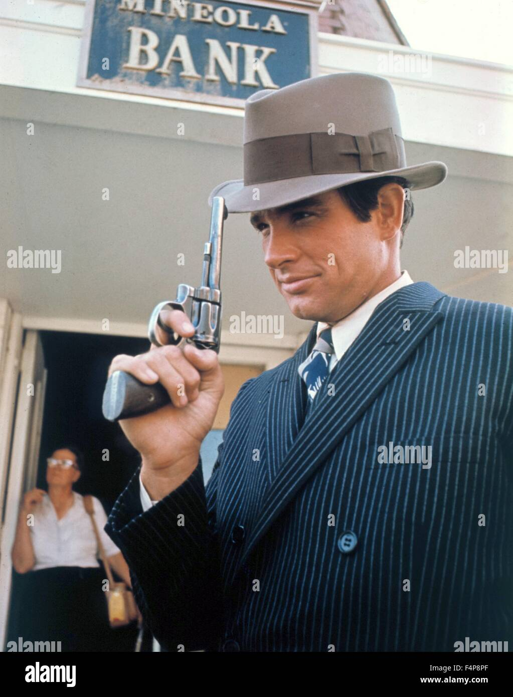 Warren Beatty / Bonnie and Clyde 1967 directed by Arthur Penn - Stock Image