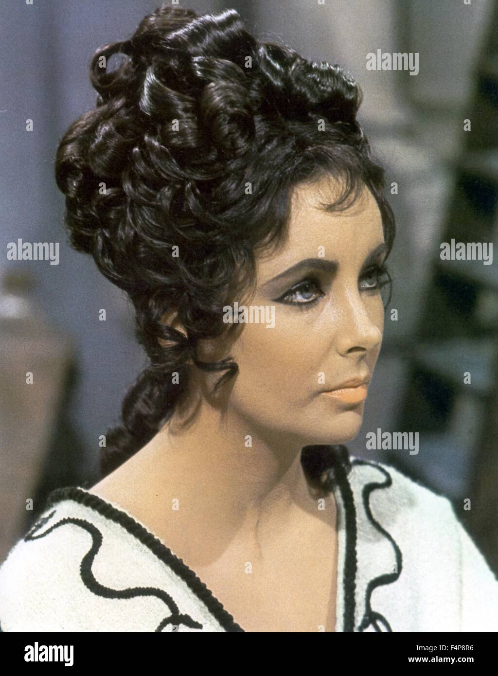 Elizabeth Taylor / Boom 1968 directed by Joseph Losey - Stock Image