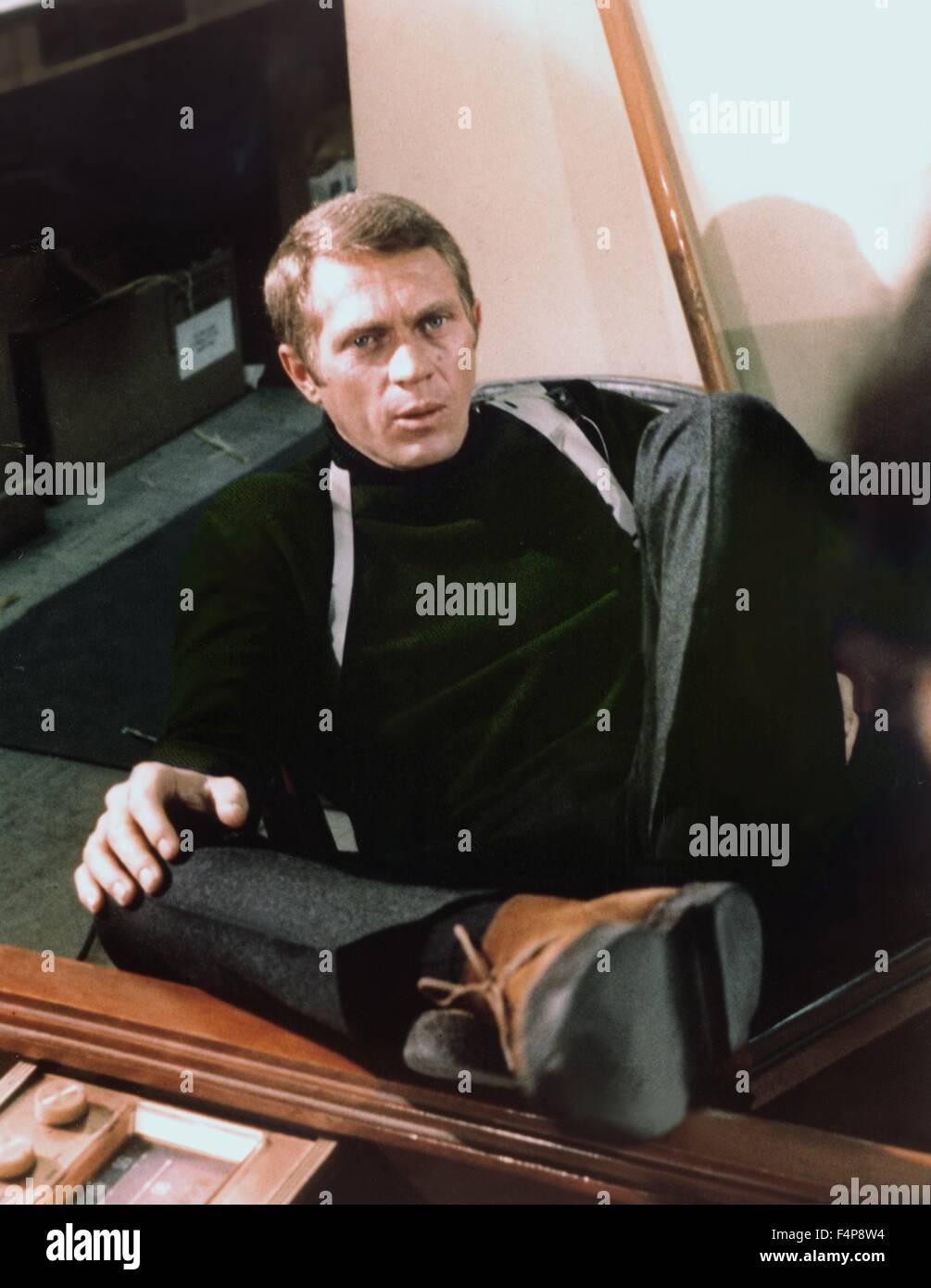 Steve McQueen / Bullitt 1968 directed by Peter Yates - Stock Image