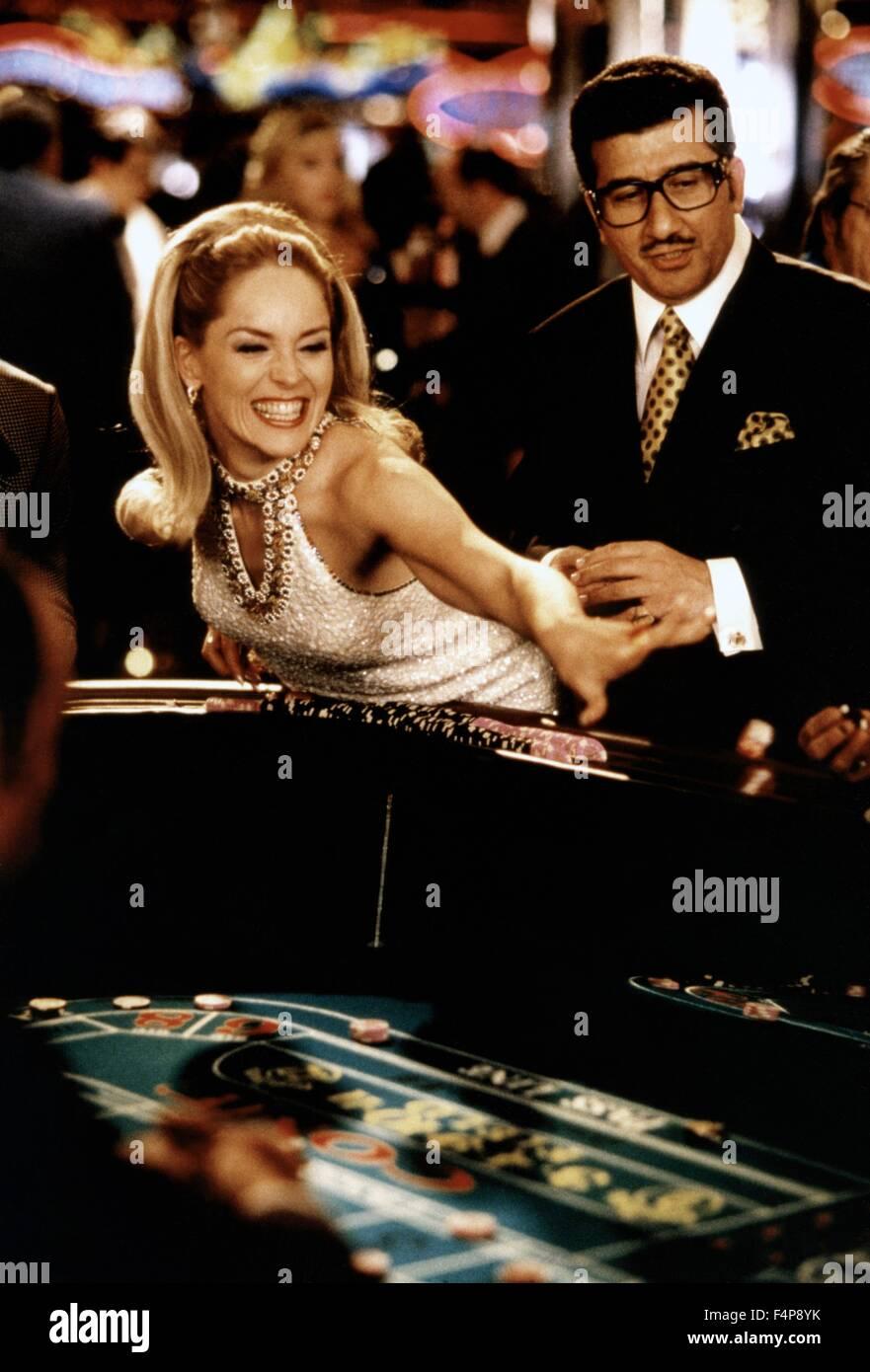 Sharon Stone / Casino 1995 directed by Martin Scorsese - Stock Image