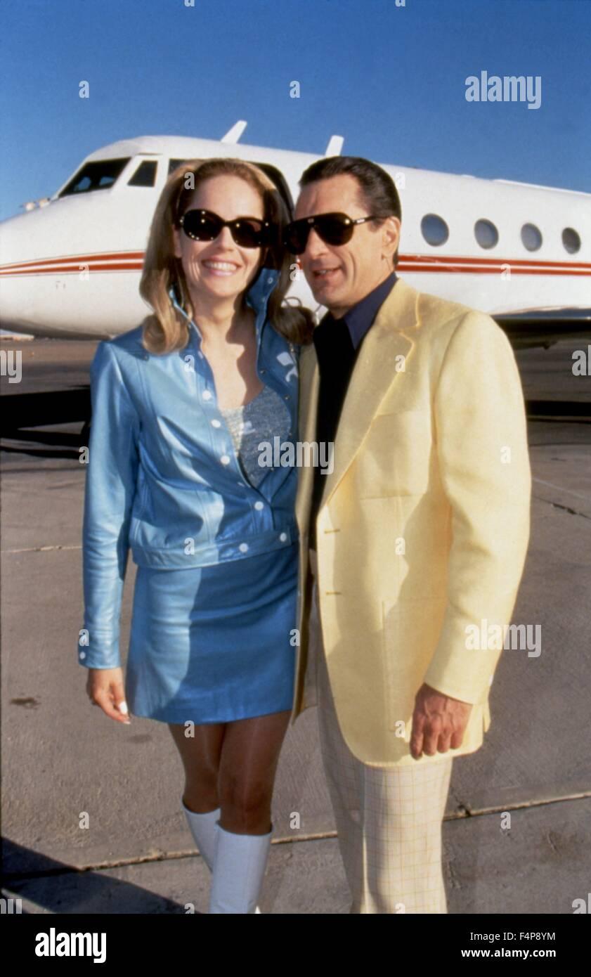 Sharon Stone, Robert de Niro / Casino 1995 directed by Martin Scorsese - Stock Image