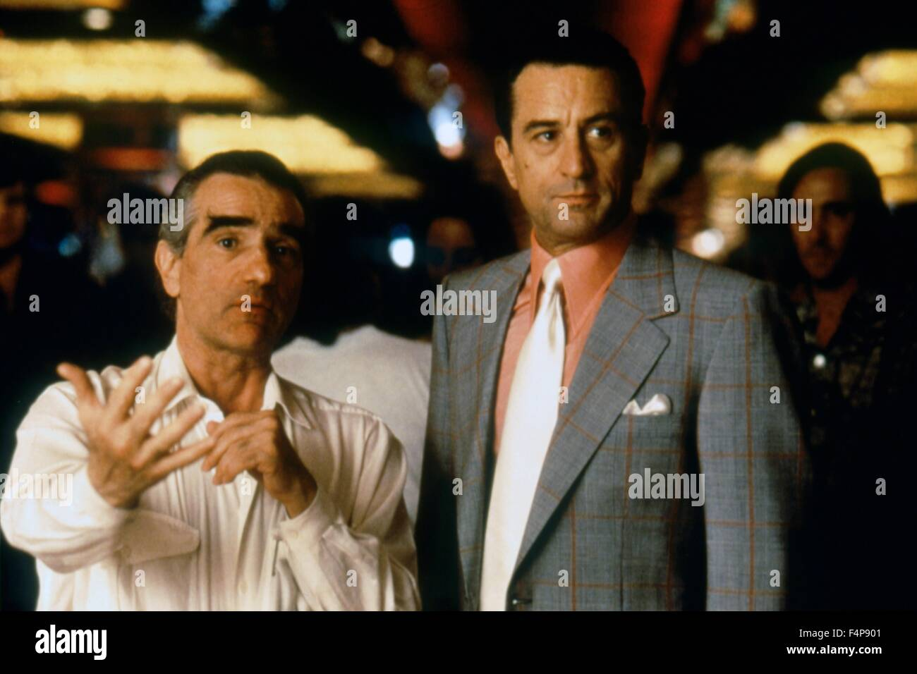 Martin Scorsese, Robert de Niro / Casino 1995 directed by Martin Scorsese - Stock Image