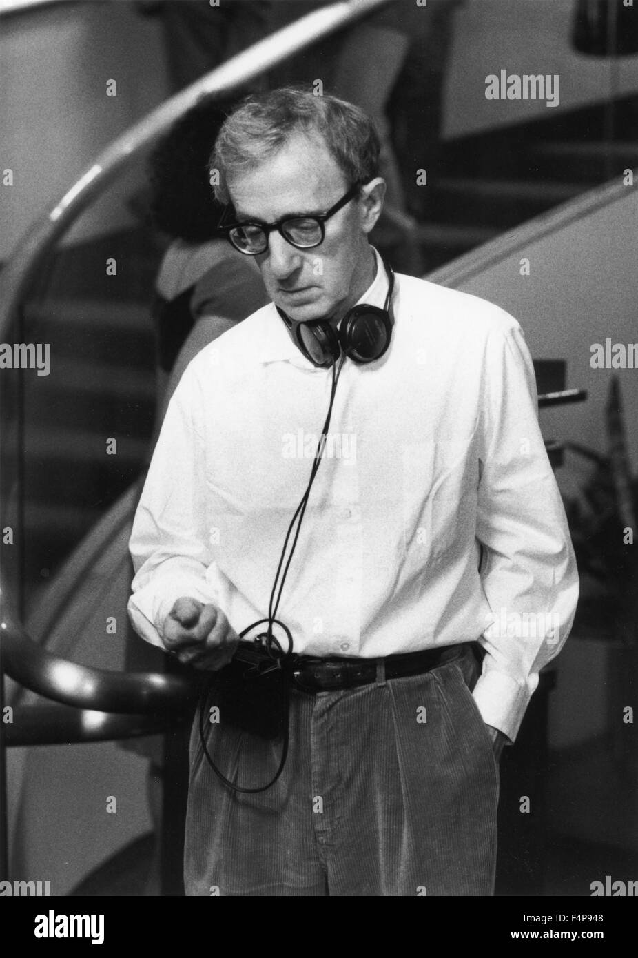 Woody Allen / Celebrity 1998 directed by Woody Allen - Stock Image