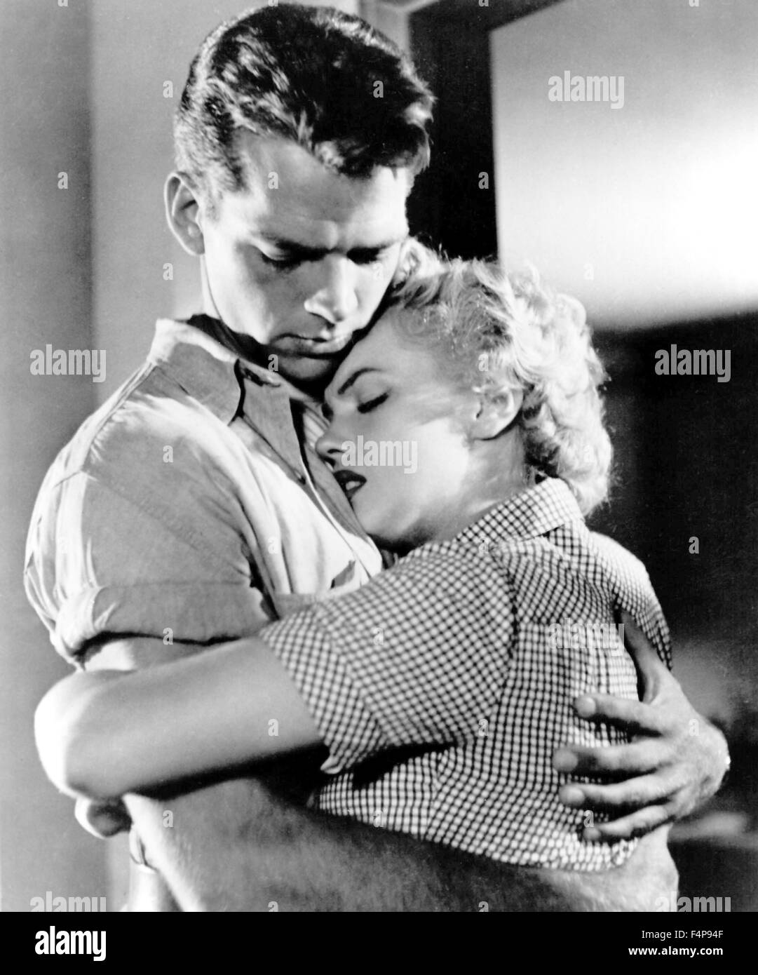 Keith Andes, Marilyn Monroe / Clash by Night 1952 directed by Fritz Lang - Stock Image