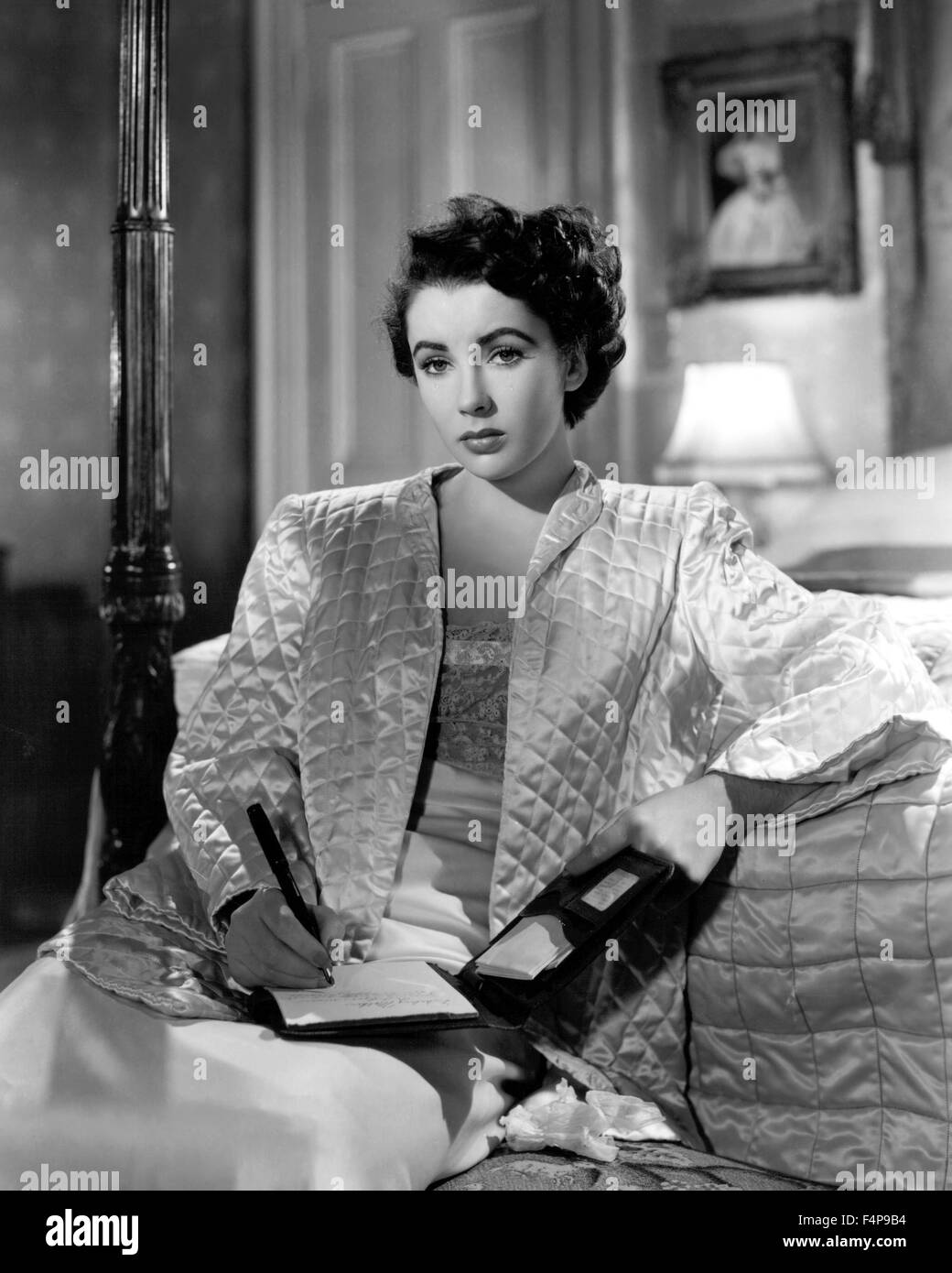 Elizabeth Taylor / Conspirator 1949 directed by Victor Saville - Stock Image