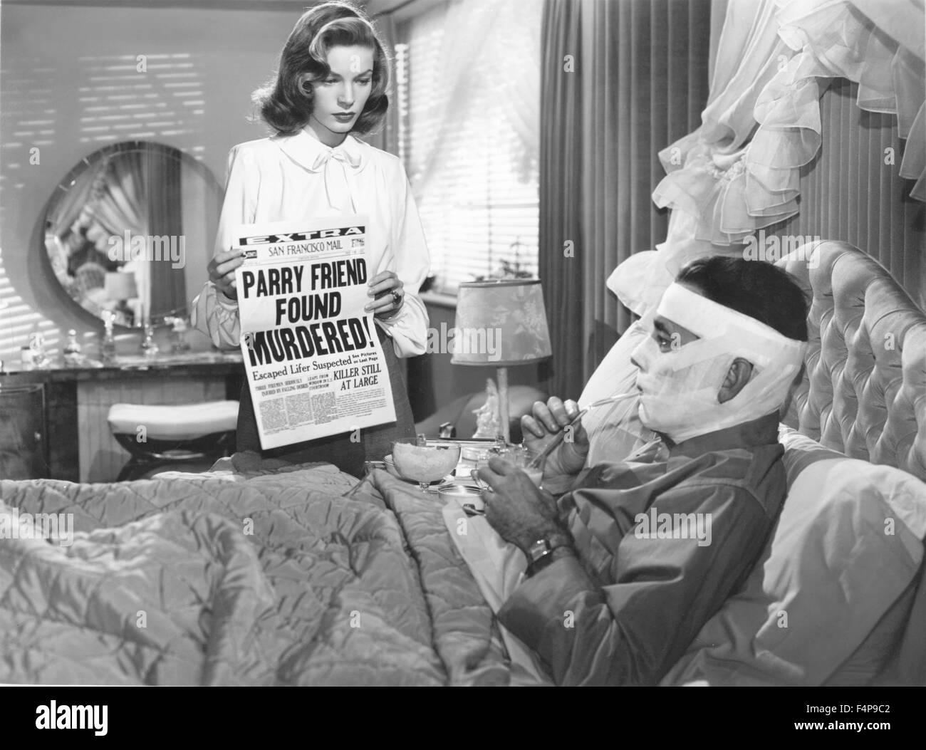 Humphrey Bogart, Lauren Bacall / Dark Passage / 1947 directed by Stock  Photo - Alamy