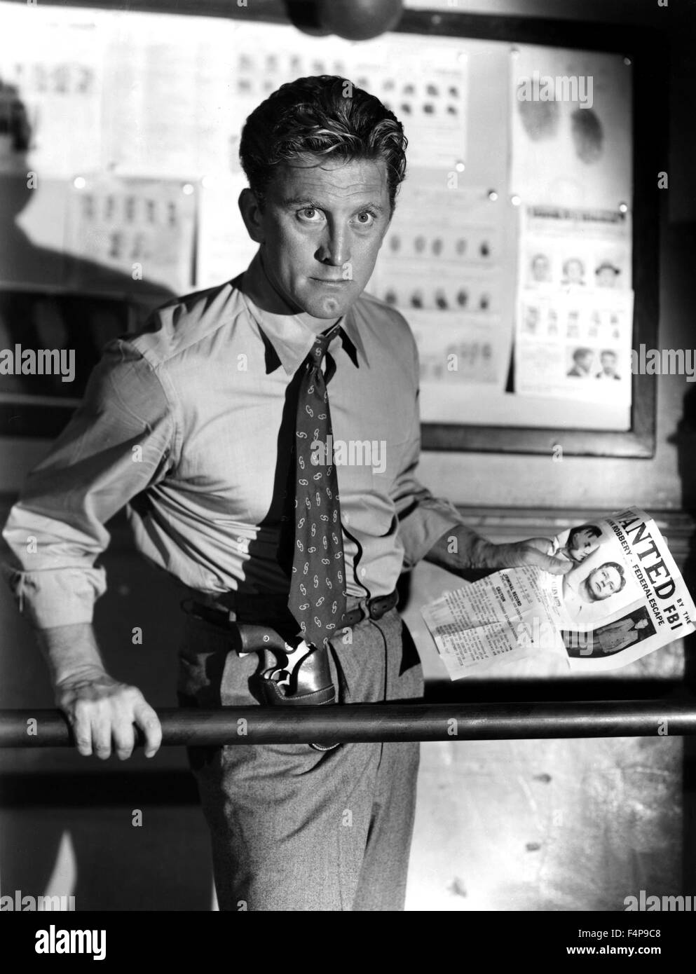Kirk Douglas / Detective Story 1951 directed by William Wyler - Stock Image