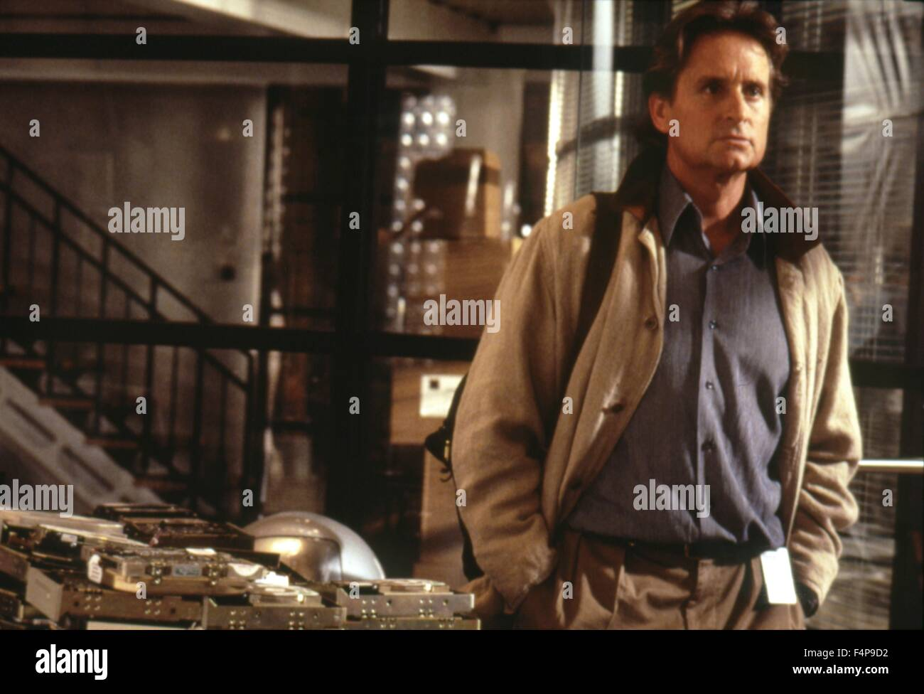 Michael Douglas Disclosure 1994 Directed By Barry Levinson Stock Photo Alamy
