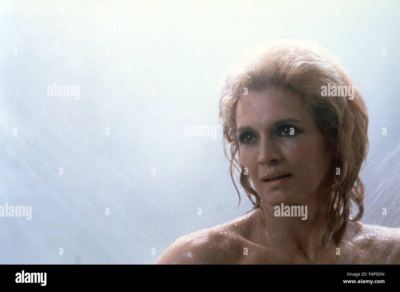 Angie Dickinson / Dressed to Kill 1980 directed by Brian De Palma - Stock Image
