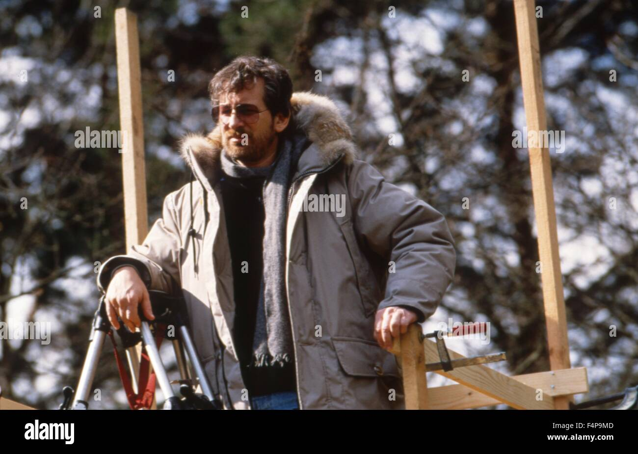 Steven Spielberg / Empire of the Sun 1987 directed by Steven Spielberg - Stock Image