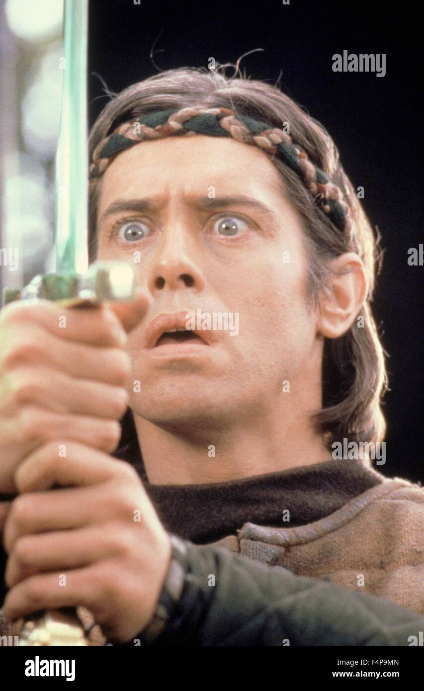 Nigel Terry / Excalibur 1981 directed by John Boorman - Stock Image