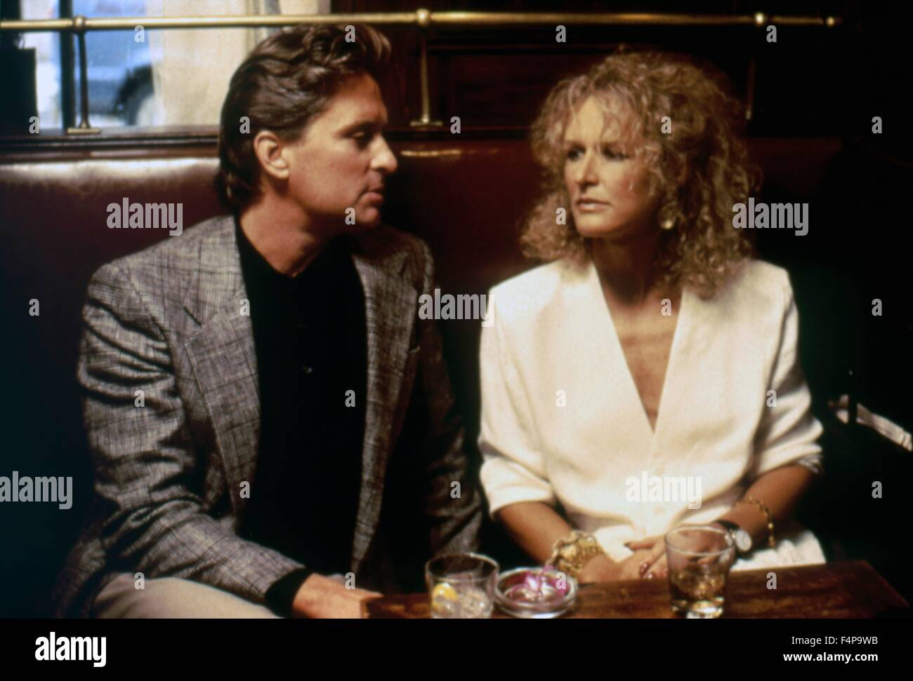 Glenn Close, Michael Douglas / Fatal Attraction 1987 directed by Adrian Lyne - Stock Image