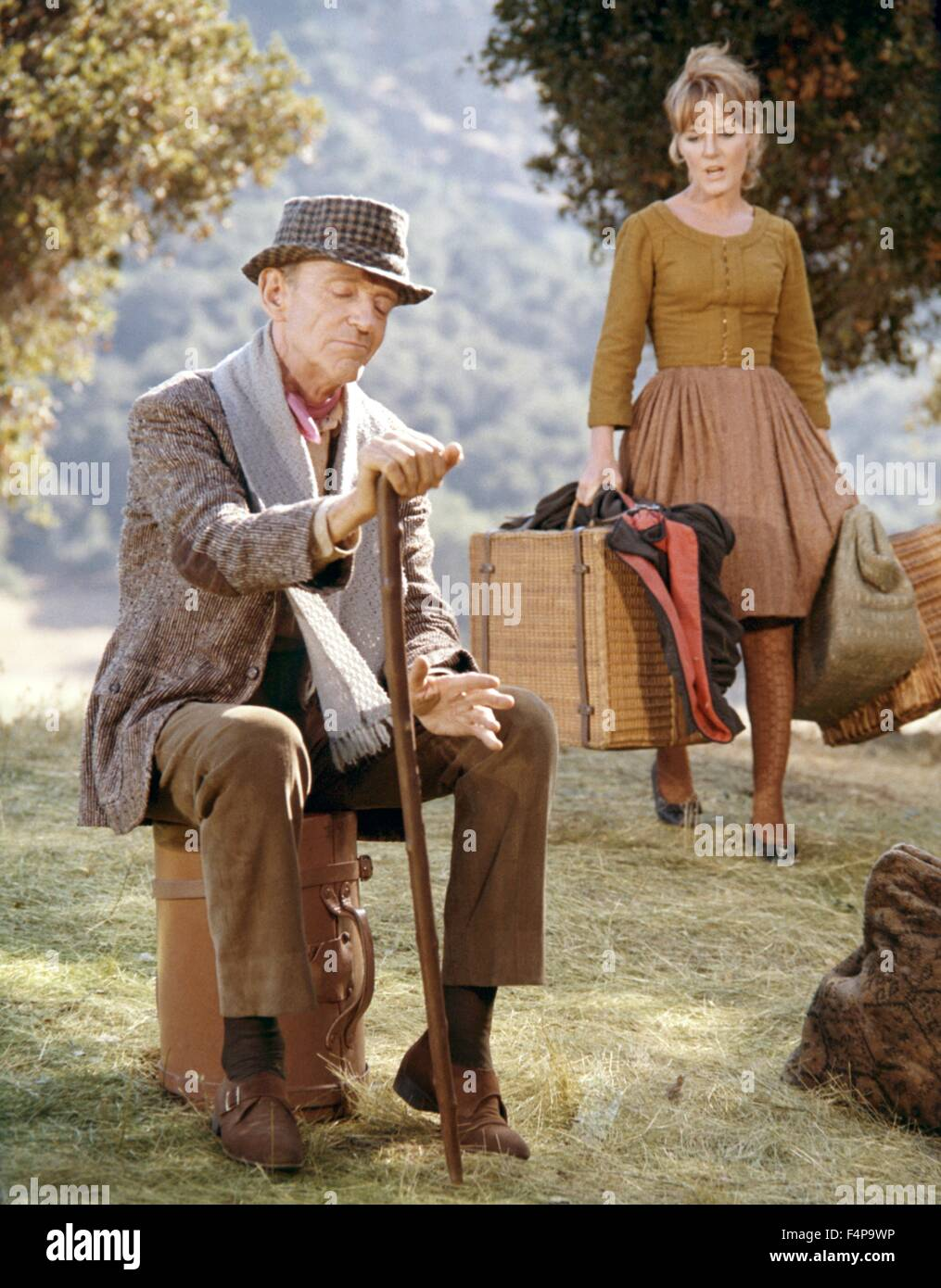 Petula Clark, Fred Astaire / Finian's Rainbow 1968 directed by Francis Ford Coppola Stock Photo