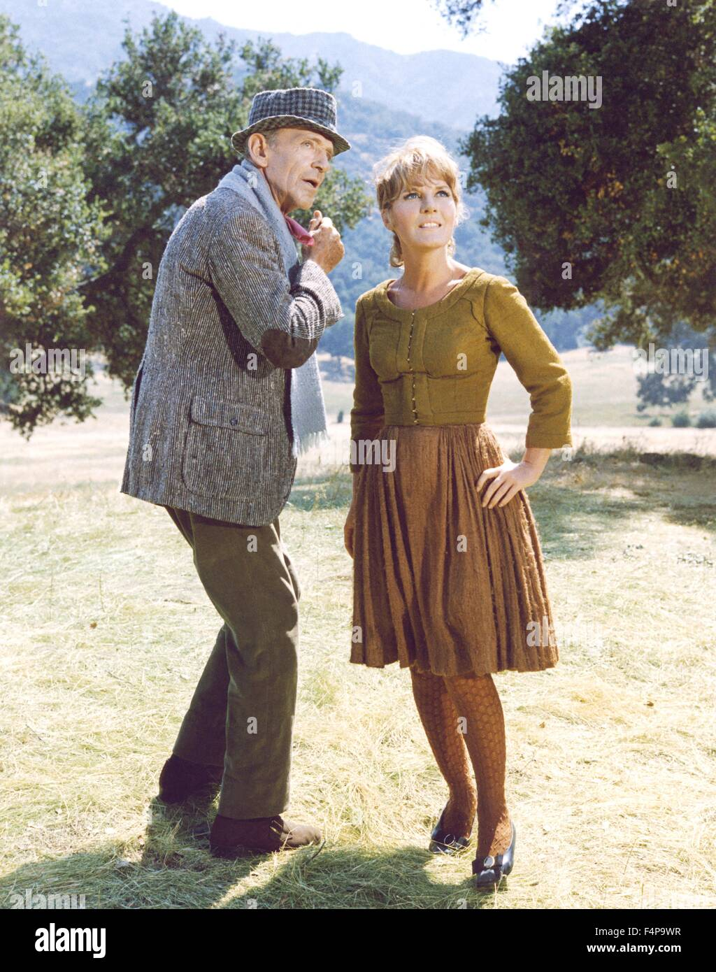 Petula Clark, Fred Astaire / Finian's Rainbow 1968 directed by Francis Ford Coppola - Stock Image