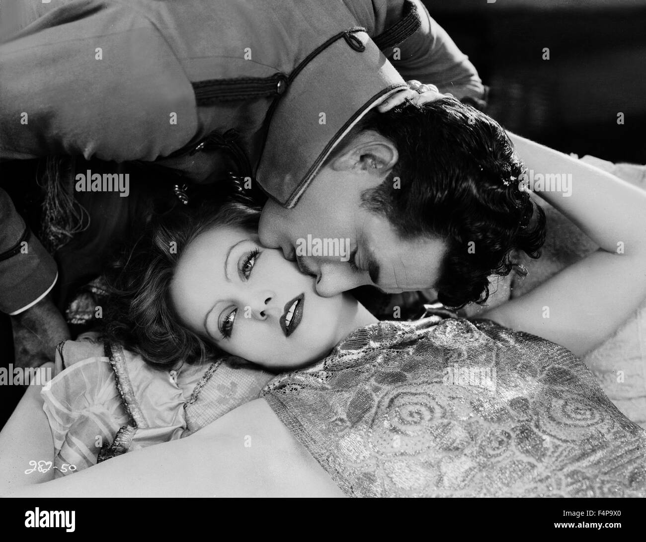 Greta Garbo, John Gilbert / Flesh and the Devil 1926 directed by Clarence Brown - Stock Image