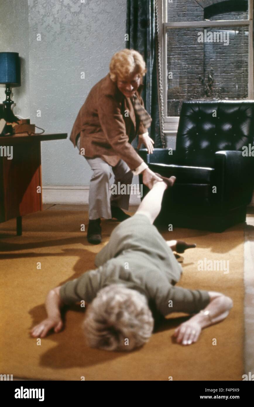 Barry Foster, Barbara Leigh-Hunt / Frenzy 1972 directed by Alfred Hitchcock - Stock Image