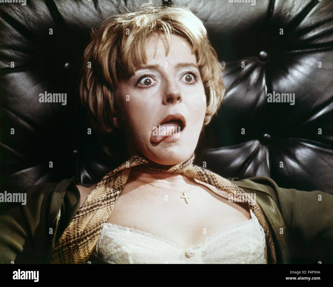 Barbara Leigh-Hunt / Frenzy 1972 directed by Alfred Hitchcock - Stock Image