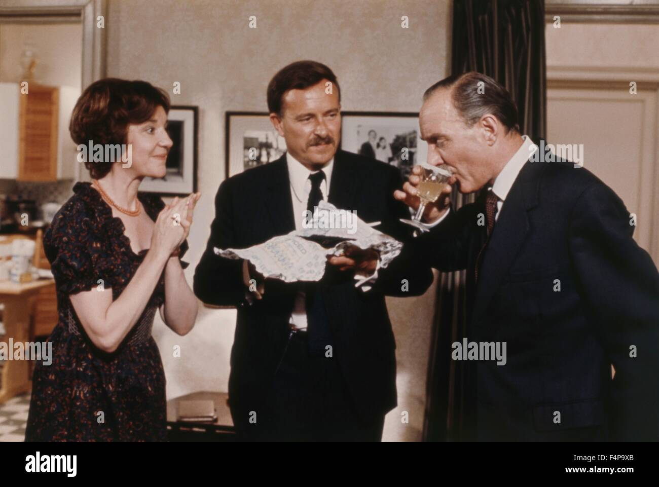 Anna Massey, Jon Finch, Alex Mc Cowen / Frenzy 1972 directed by Alfred Hitchcock - Stock Image
