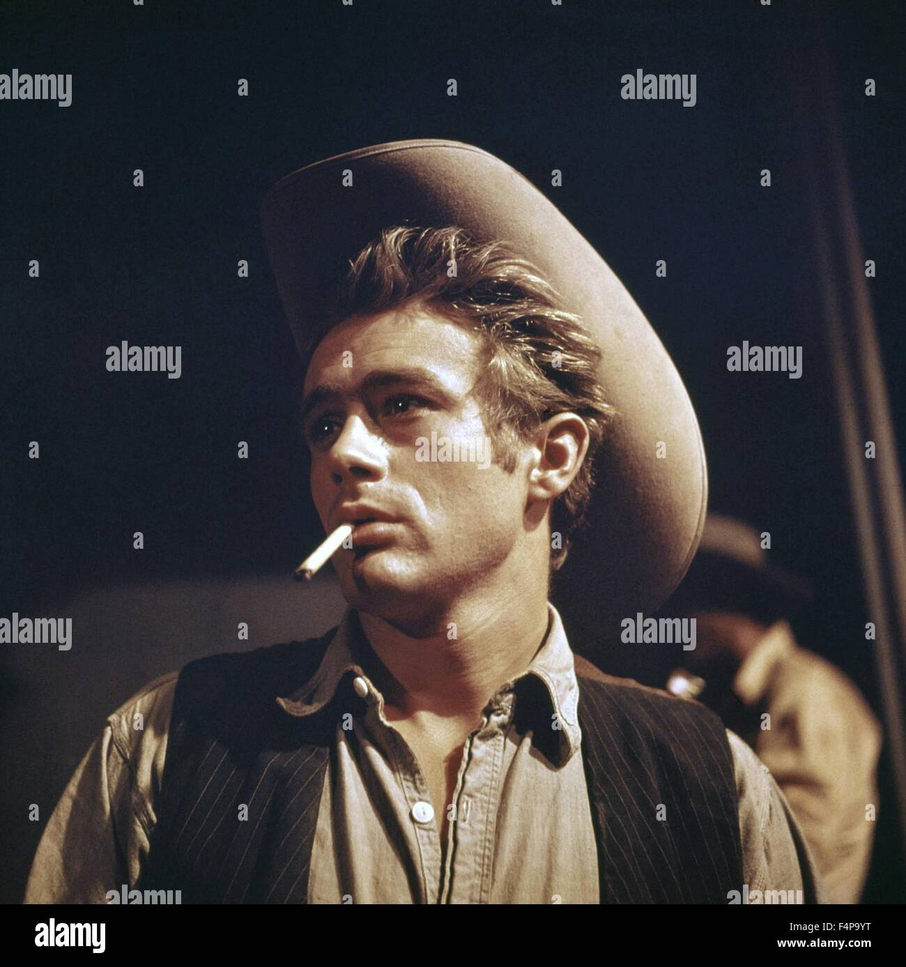 James Dean / Giant 1955 directed by George Stevens - Stock Image