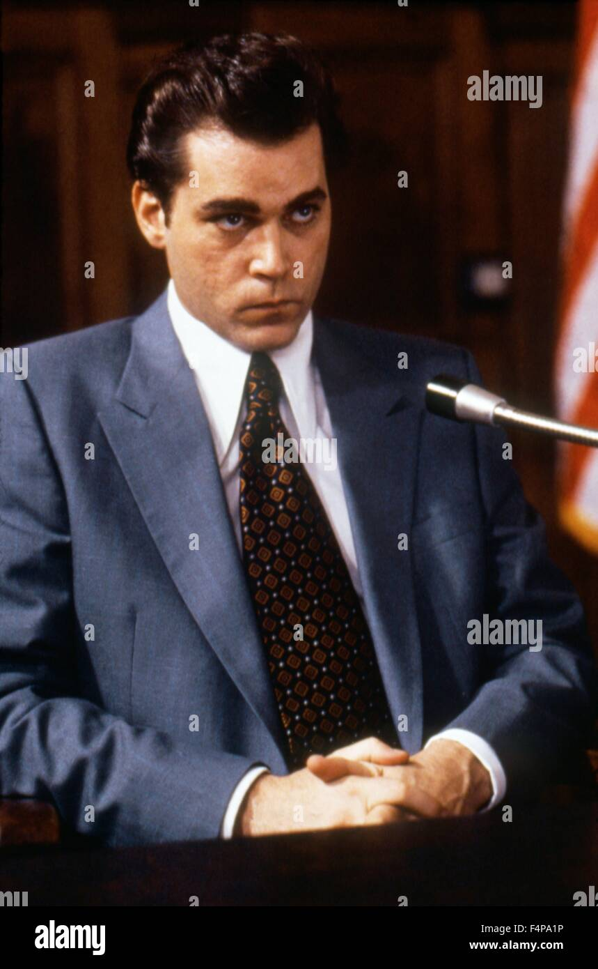 Ray Liotta / Goodfellas 1990 directed by Martin Scorsese - Stock Image