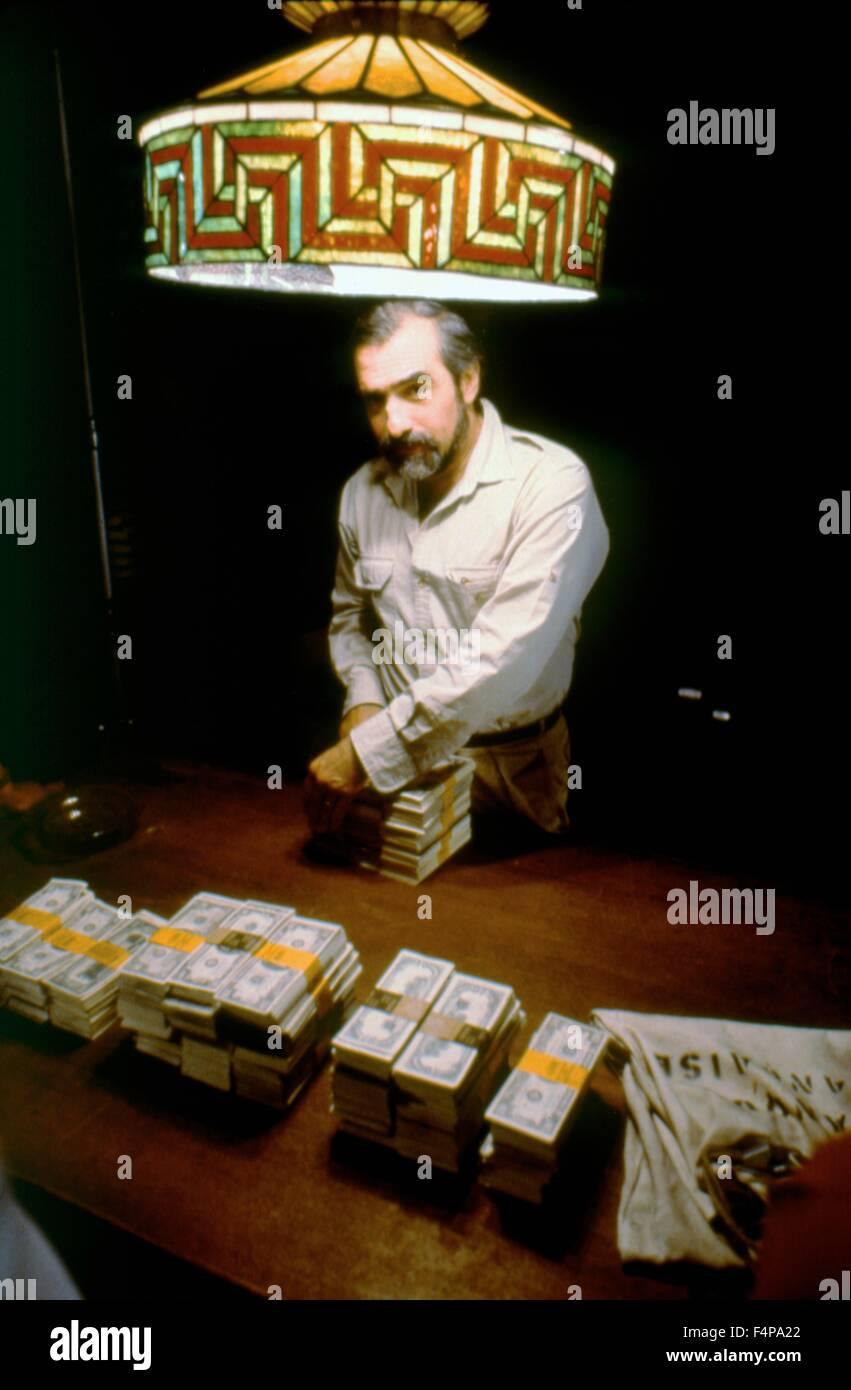 Martin Scorsese / Goodfellas 1990 directed by Martin Scorsese - Stock Image