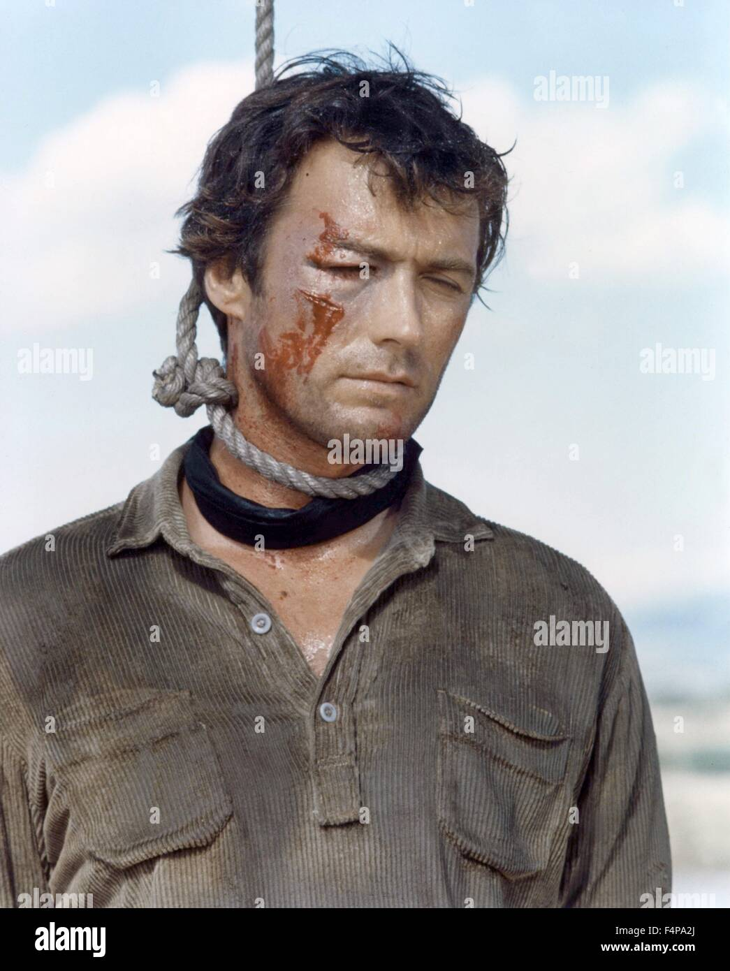 Clint Eastwood / Hang 'Em High 1968 directed by Ted Post - Stock Image