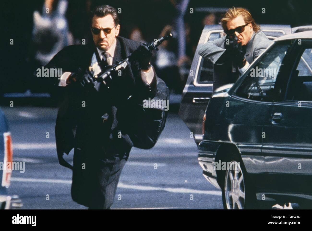 Robert de Niro, Val Kilmer / Heat 1995 directed by Michael Mann - Stock Image