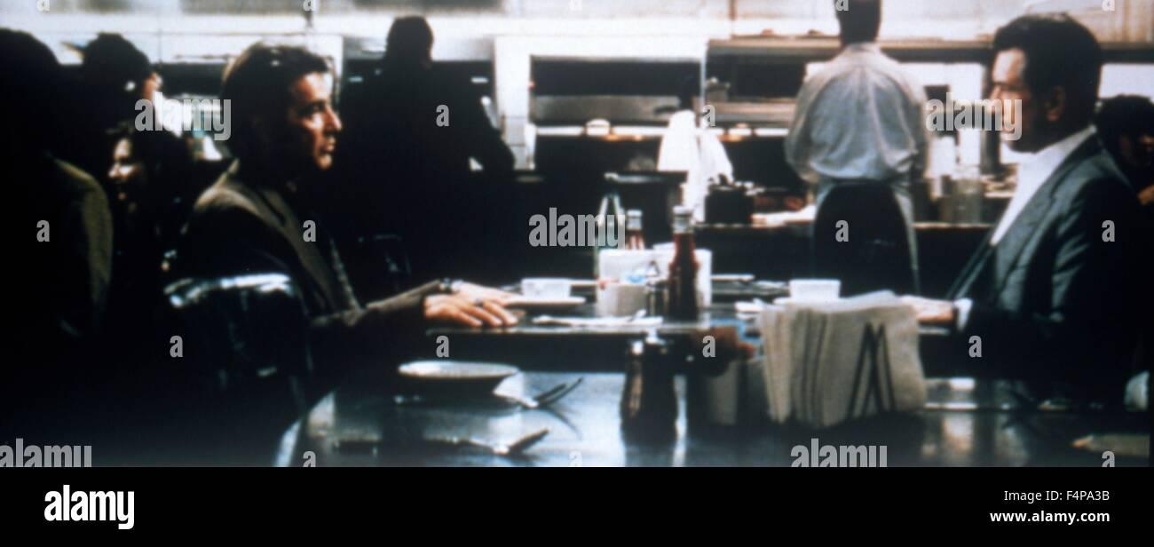 Al Pacino, Robert de Niro / Heat 1995 directed by Michael Mann - Stock Image